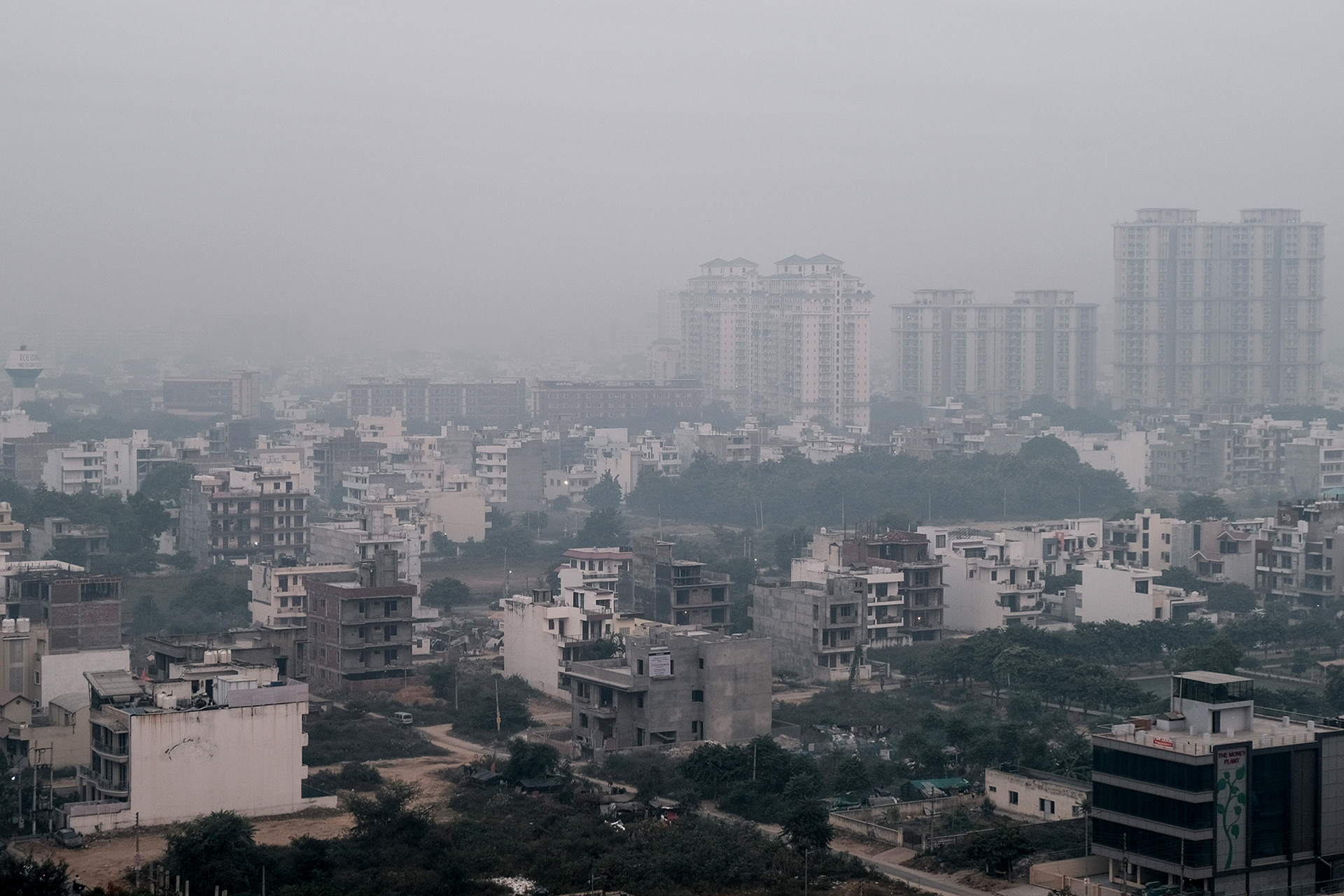The dreary state of smog engulfed Delhi   |  Better Air Now | IKEA | STIRworld