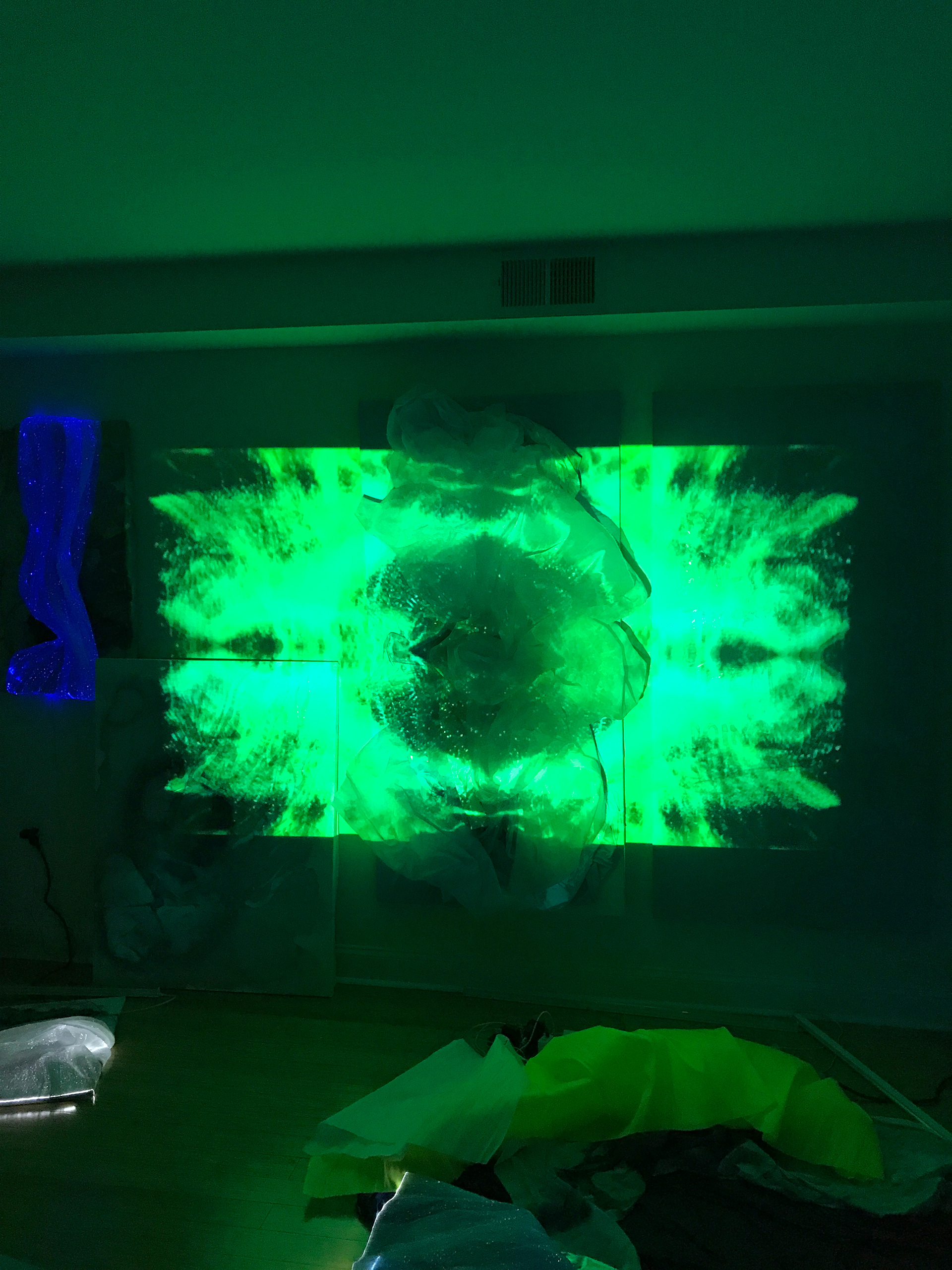 Anemone - an audiovisual installation part of Ksenia's new body of work | Save The Oceans | Ksenia Salion | STIRworld