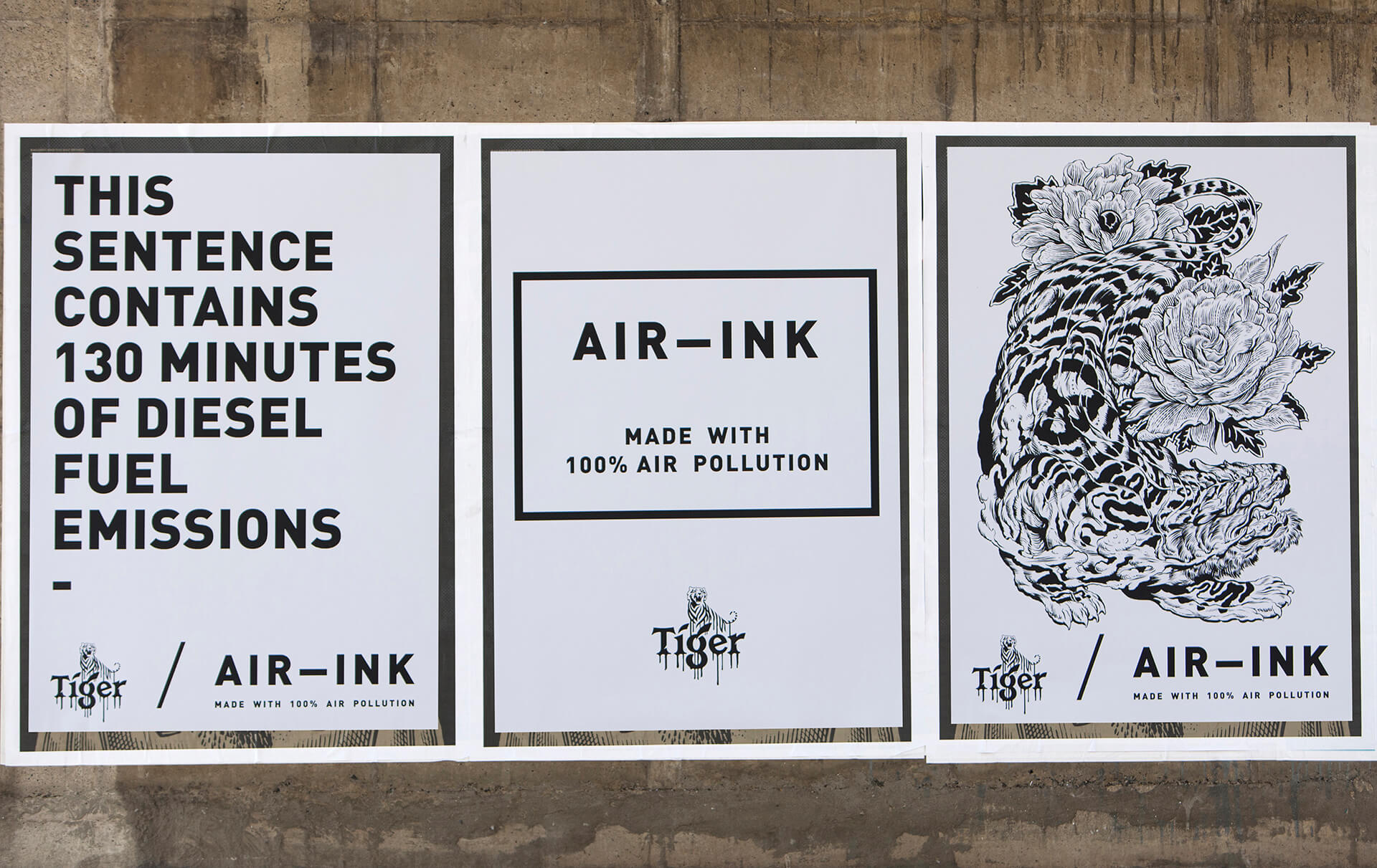 Posters by AIR-INK designed for various events and campaigns across the world | Graviky Labs | STIRworld