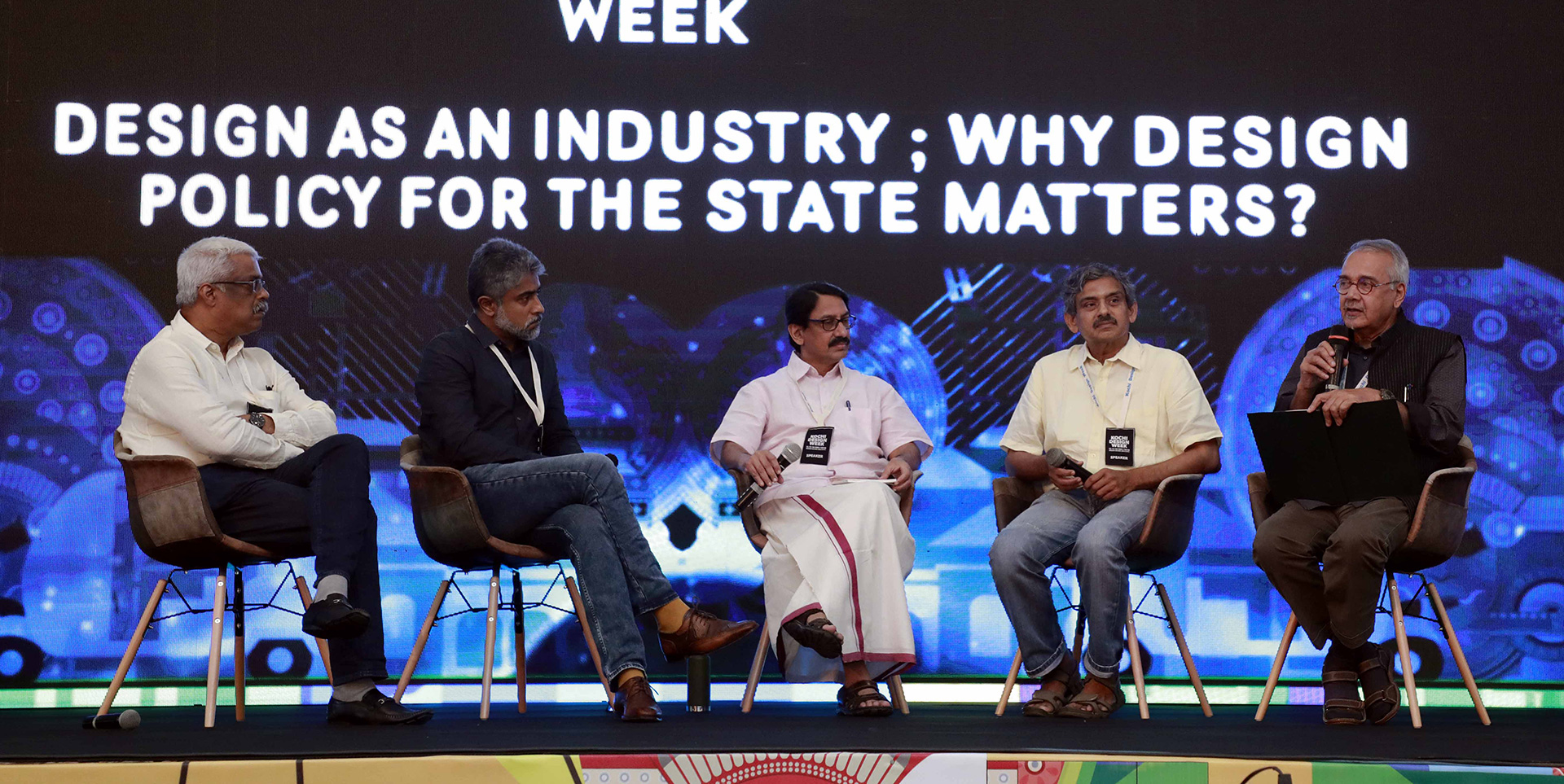 Panel Discussion on 'Design as an Industry; Why Design Policy for the State Matters?' at the Kochi Design Week 2019 | Kochi Design Week | STIRworld