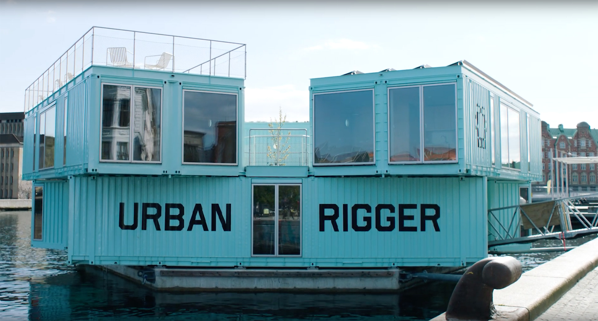 Urban Rigger: Optimized housing solution for harbor cities | Urban Rigger student housing| BIG | STIRworld