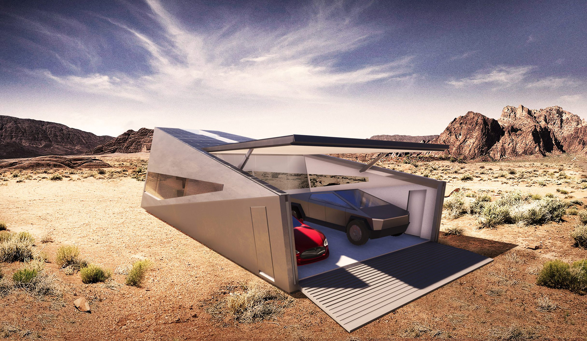 Cybunker is a futuristic home designed by Lars Büro | Cybunker |Lars Büro | STIRworld