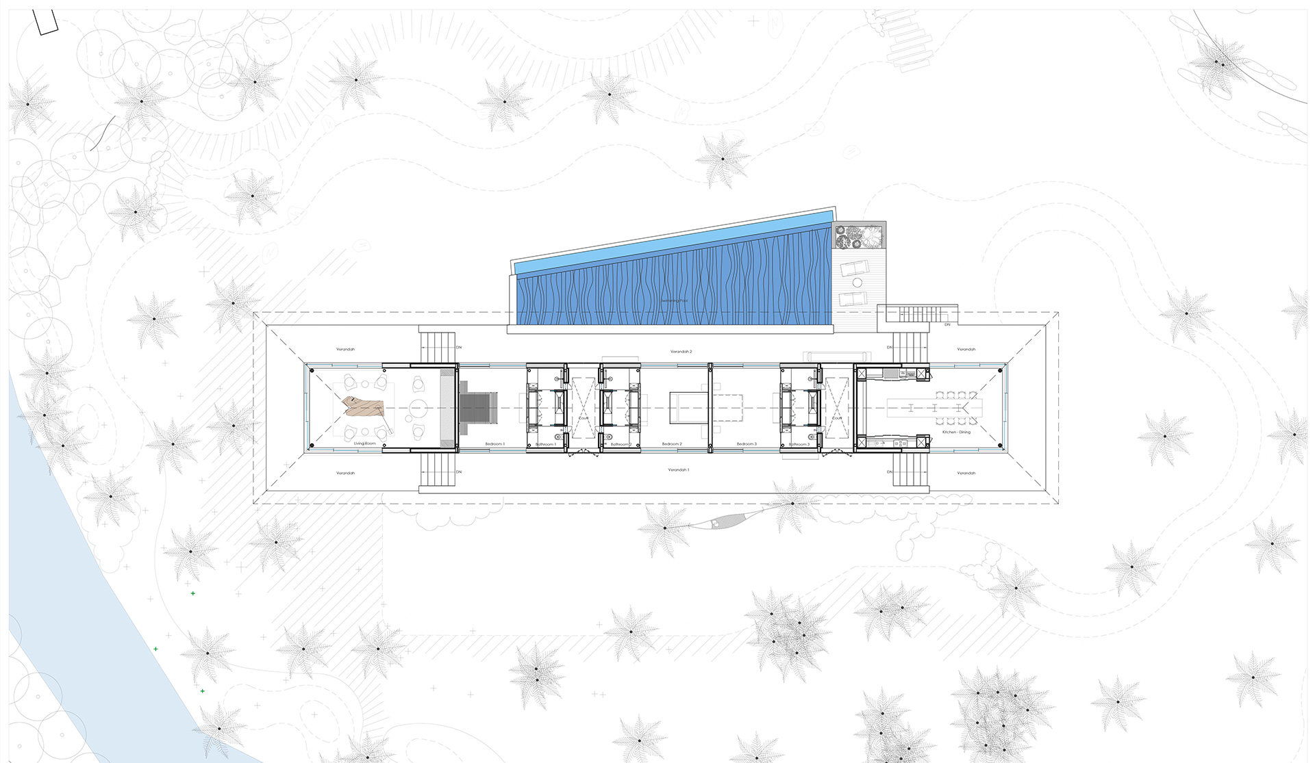 Layout of the house | Parikrama House | SPASM Design Architects | STIRworld