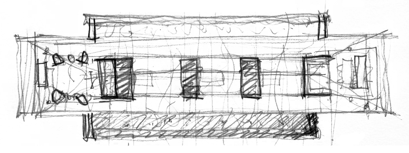 A sketch of the Parikrama House | Parikrama House | SPASM | STIRworld