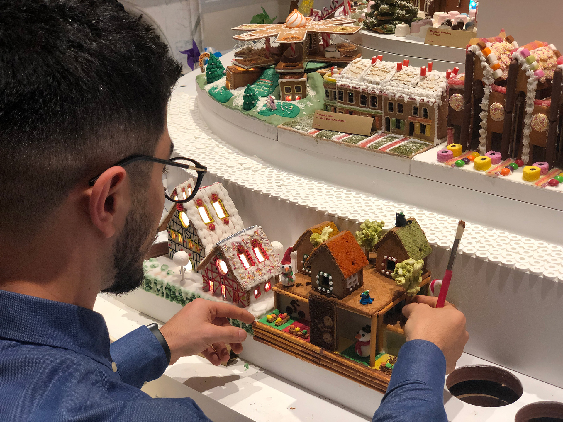 KC+A architects created the Expresso Wheels at the Gingerbread City | Gingerbread City | Museum of Architecture | Somerset House | STIRworld