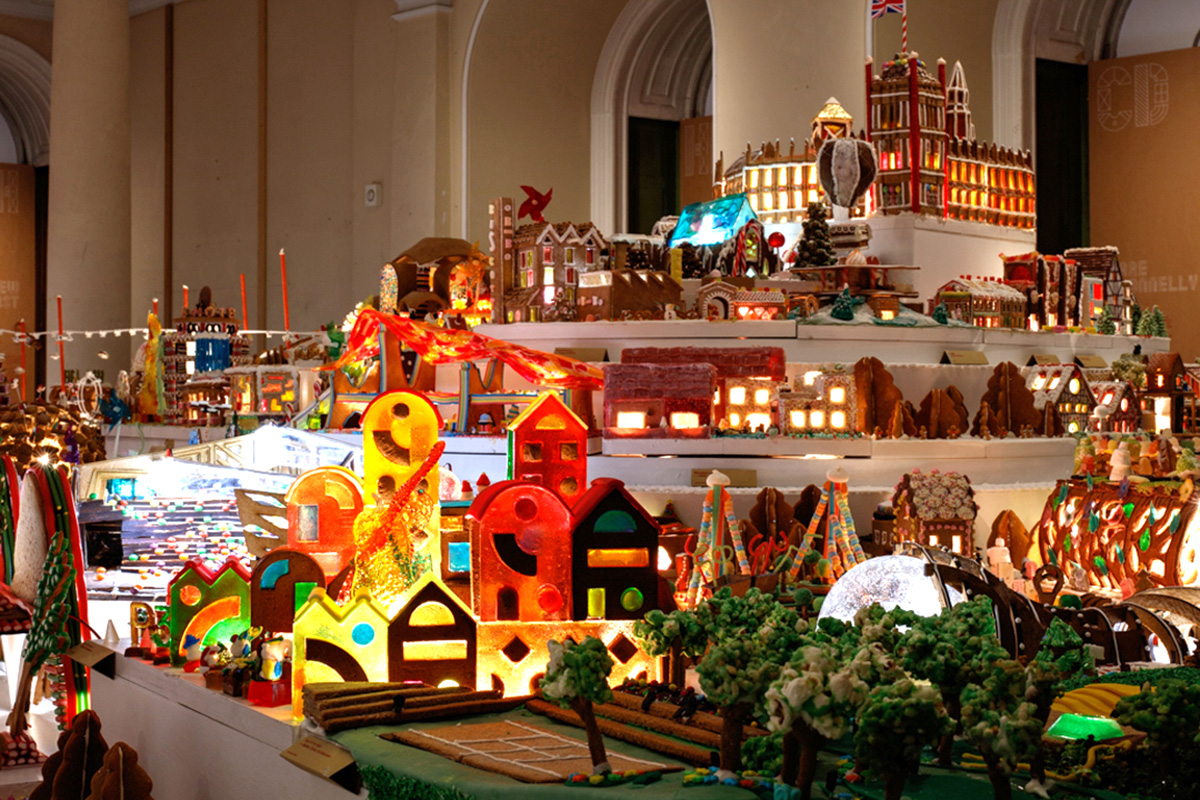 The Gingerbread City exhibition at the Somerset House, London | Gingerbread City | Museum of Architecture | Somerset House | STIRworld