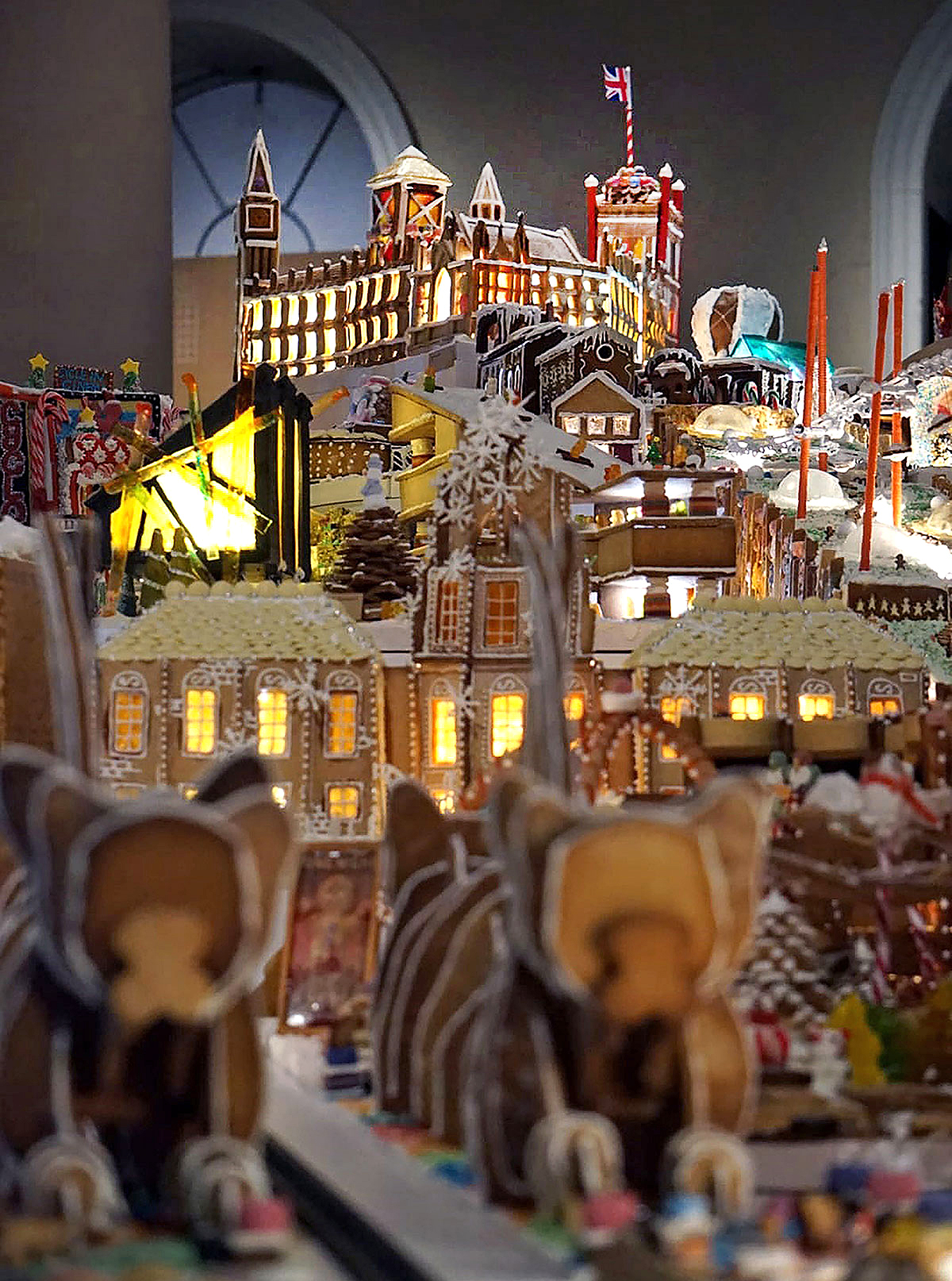 BDP created a palace that became the central hub for a zero-carbon transportation system | Gingerbread City | Museum of Architecture | Somerset House | STIRworld