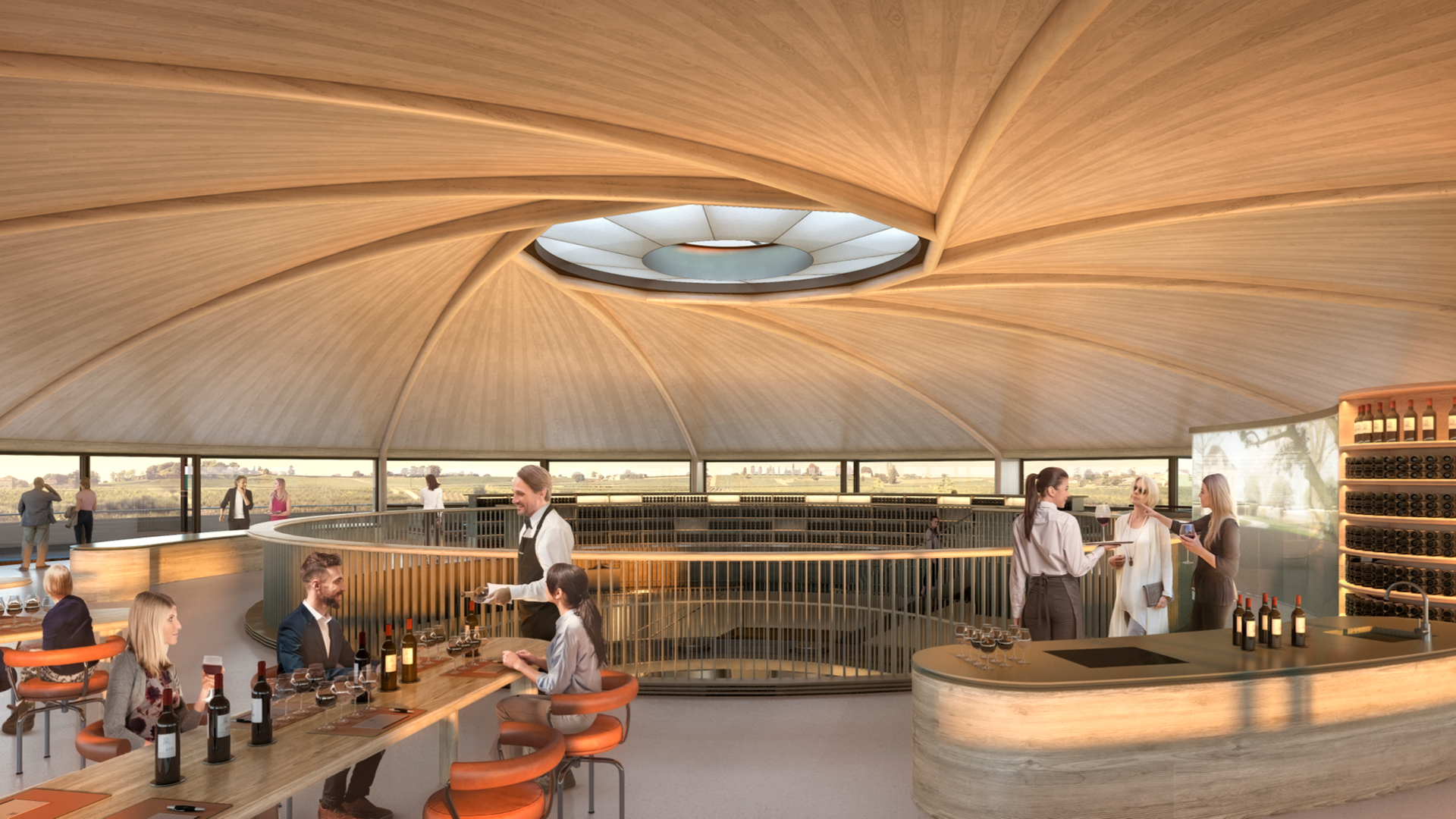 The anticipated Le Dôme winery anchored in its landscape | The Le Dome Winery | Foster + Partners | STIRworld