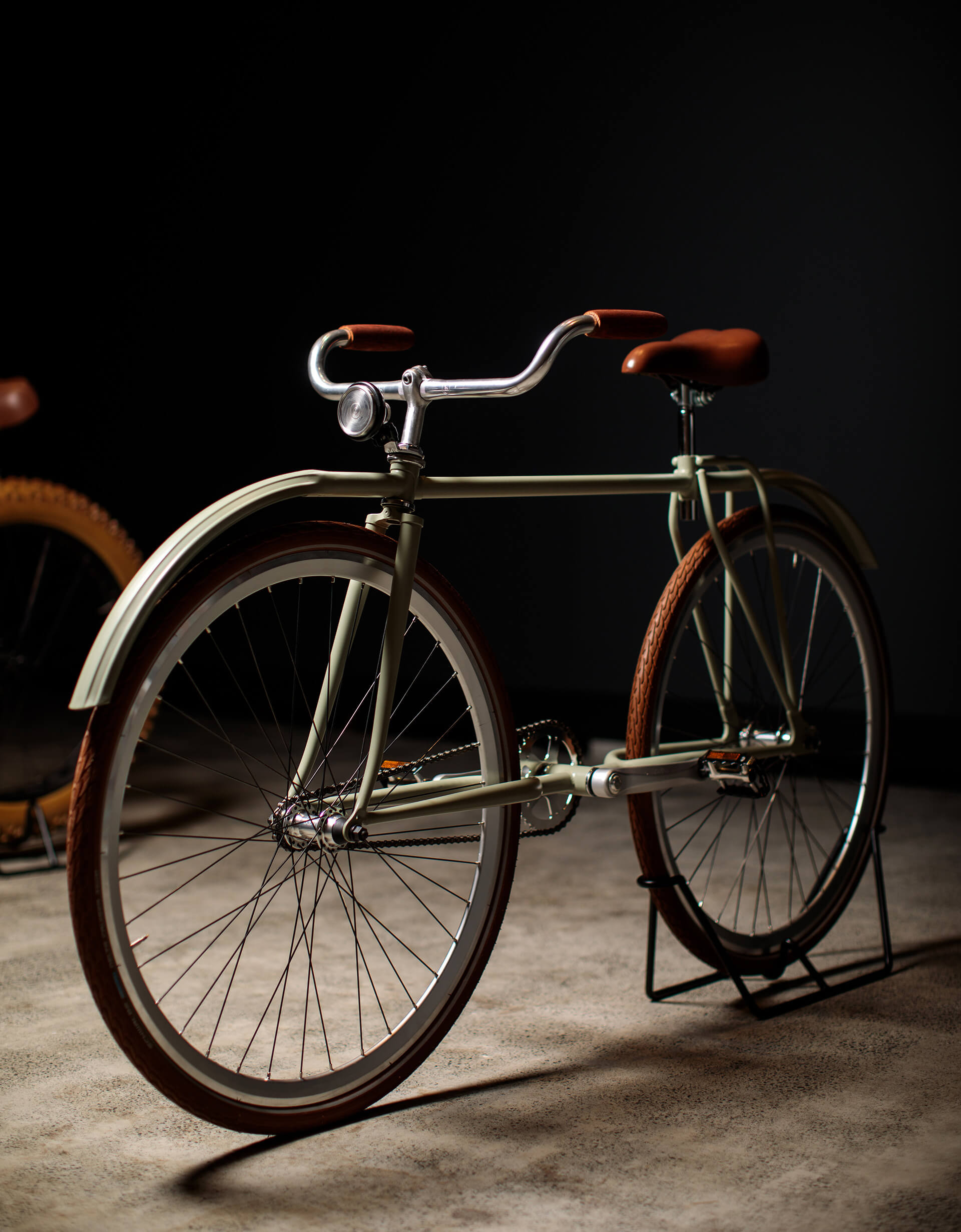 Prototype of bicycle design by Rosalba exhibited at the Museum of Old and New Art, Tasmania, Australia | Velocipedia| Gianluca Gimini | STIRworld