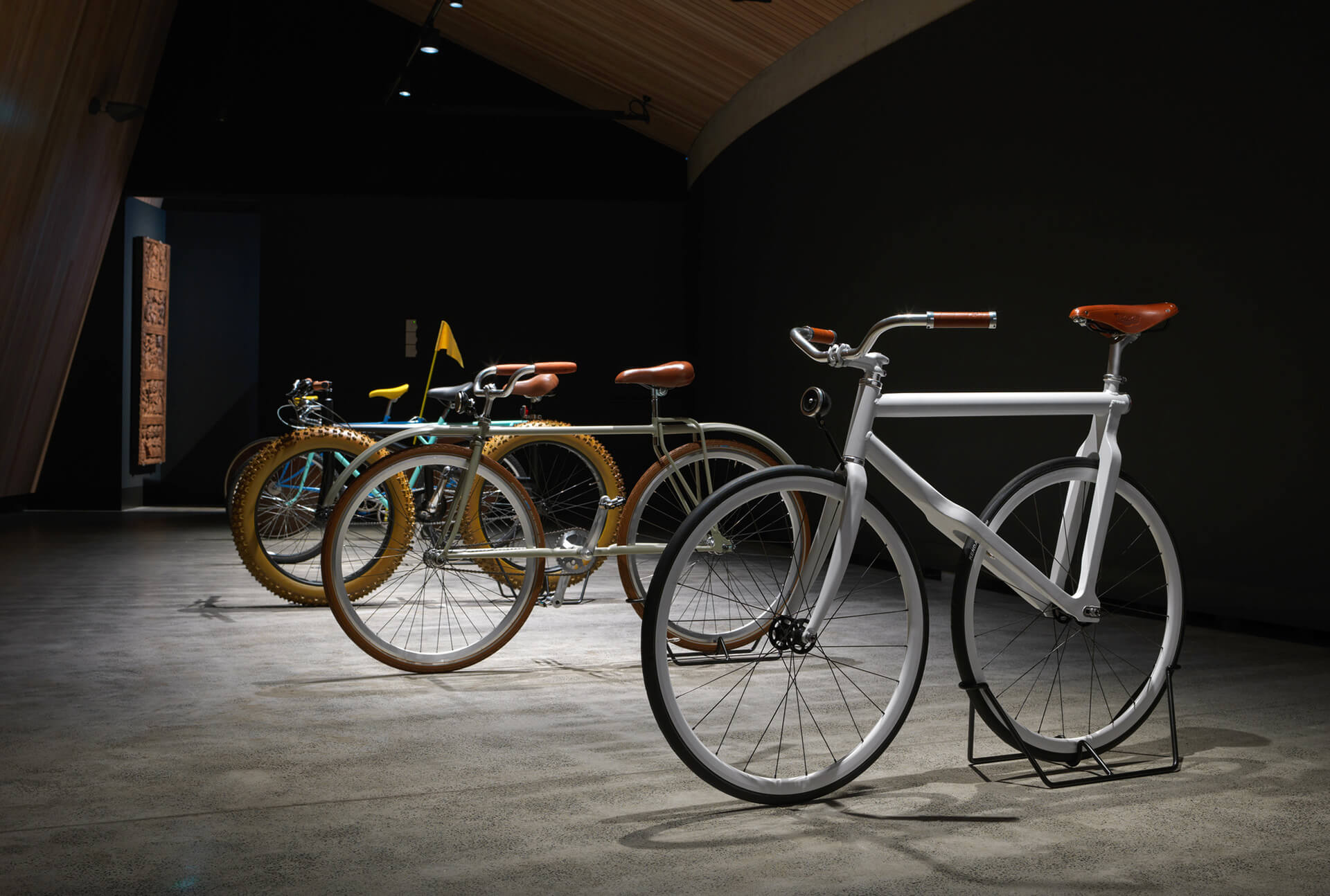 Unusual bicycle designs at the Museum of Old and New Art | Velocipedia| Gianluca Gimini | STIRworld