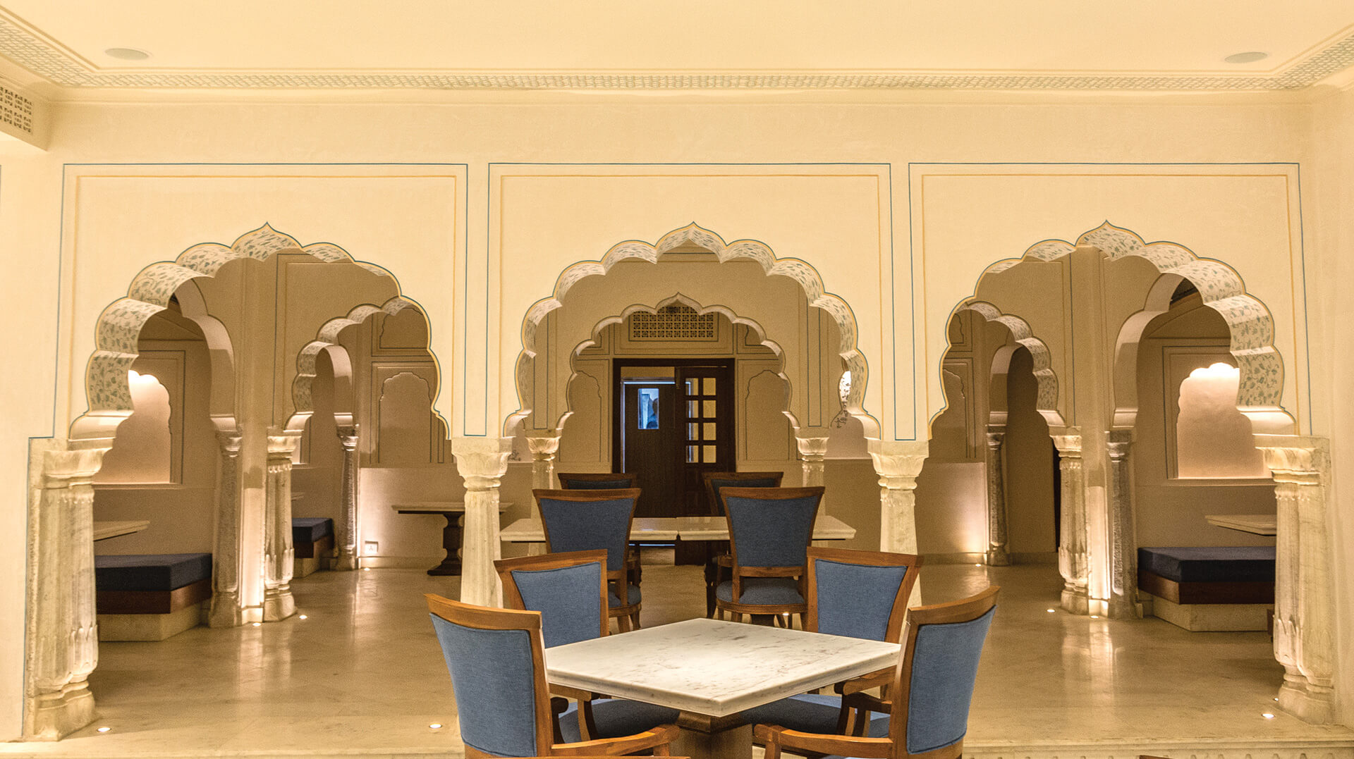 Cusped arch inspired by the Jaipur Gharana architecture | Alila Bishangarh Fort |Sthapatya Architects | STIRworld