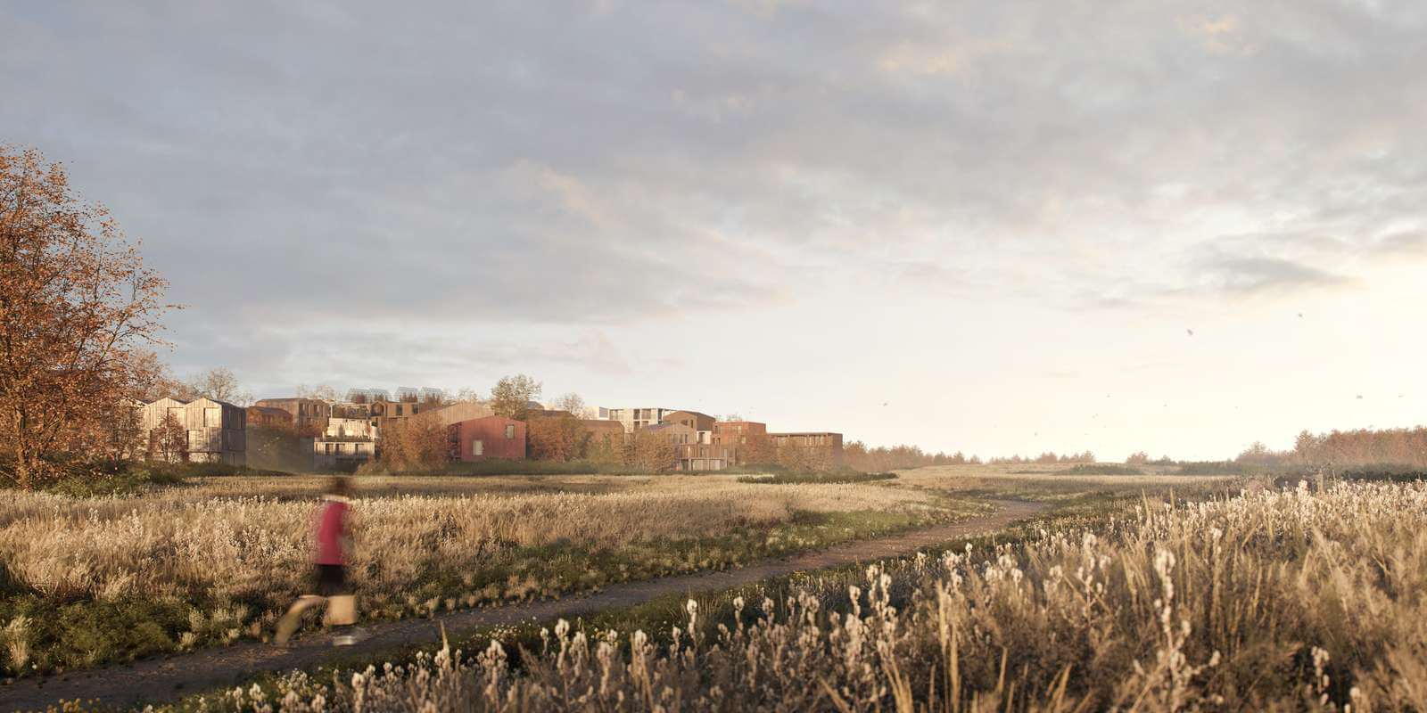 All residences are a two-minute walk away from natural surroundings | Fælledby | Henning Larsen | STIRworld