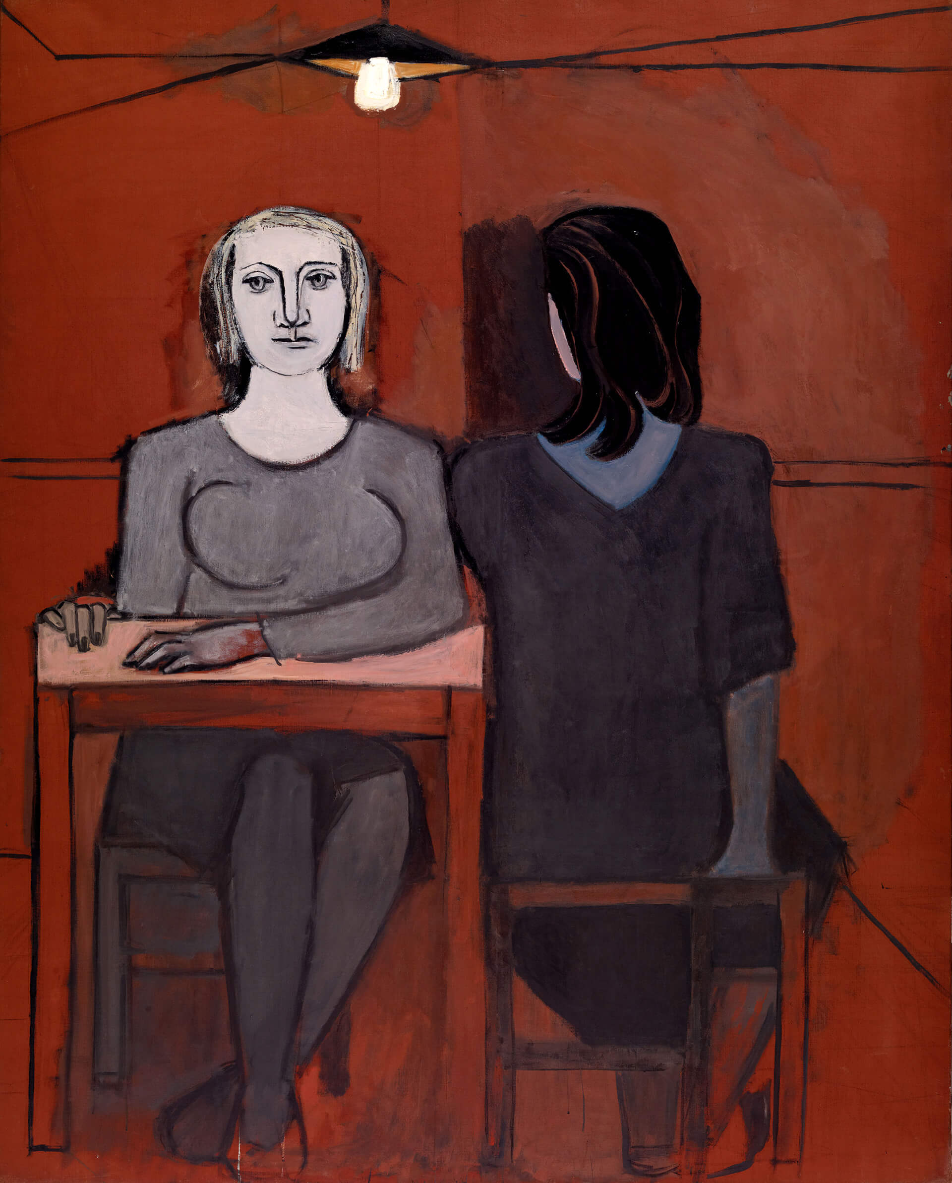 The Conversation 1937, Oil on canvas, Fundación Almine y Bernard Ruiz-Picasso para el Arte, Madrid © FABA | Dora Maar | Tate Modern, London | STIRworld