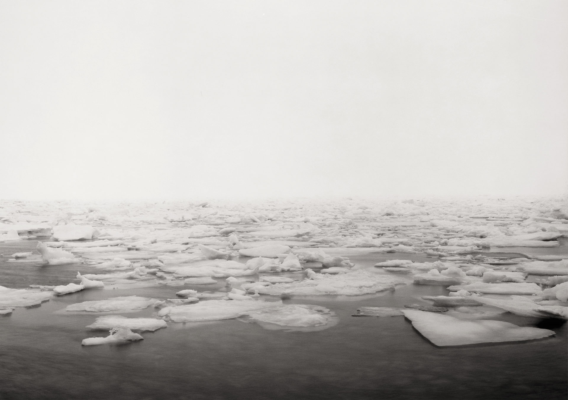 North! The First Landing Site, Afternoon Drifting Fog, the Spring Equinoctial Ice Flow—The North Atlantic Ocean | The World's Edge | Thomas Joshua Cooper | STIRworld