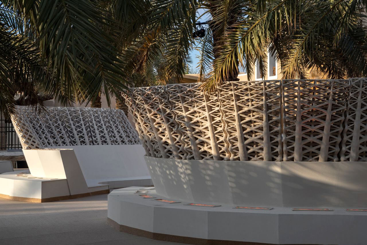 The sculpturesque landscape is designed as a new form of urban furniture | The Sandwaves | Mamou-Mani and Precht | STIRworld