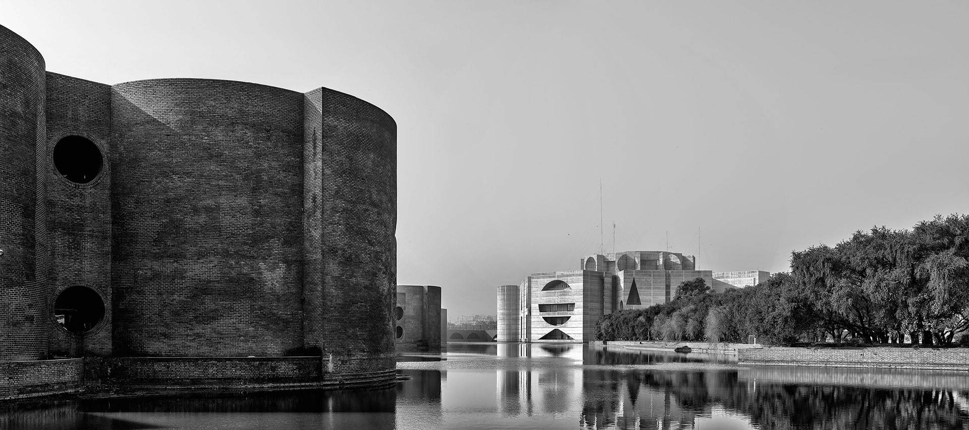 The National Parliament of Bangladesh in Dhaka, Bangladesh (1962-83) | Miracles in Concrete | Louis I Kahn | STIRworld