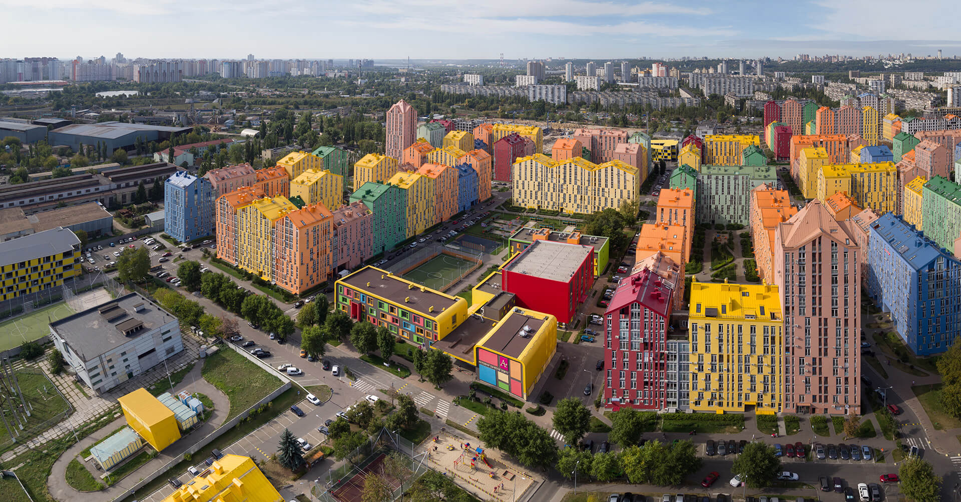 Block development principle has been applied for the first time in Ukraine | Comfort Town | Archimatika | STIRworld