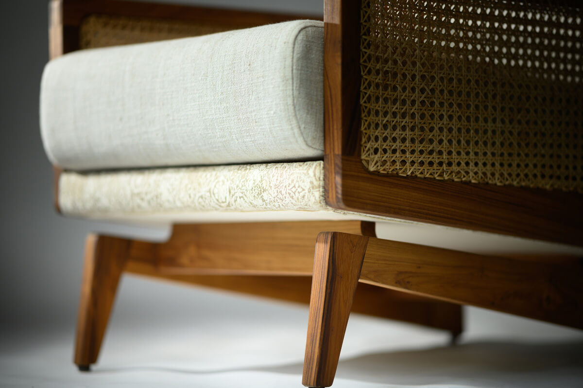 The Virile Arm Chair - detail | Tectona Grandis Furniture | India | Dhruvkant Amin | STIRworld