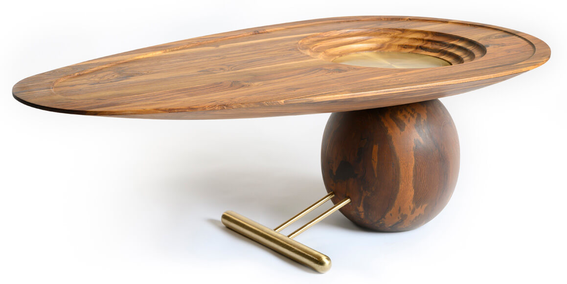 The Oreka Center Table | Tectona Grandis Furniture | India | Dhruvkant Amin | STIRworld