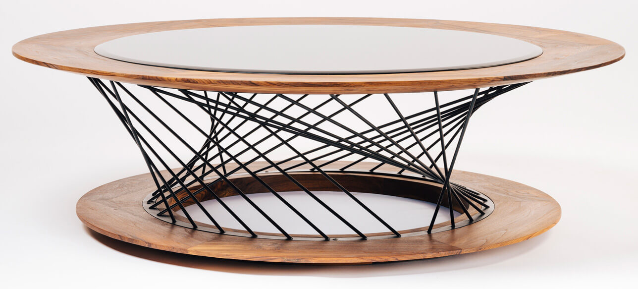 The Mesh center Table by Tectona Grandis Furniture | Tectona Grandis Furniture | India | Dhruvkant Amin | STIRworld