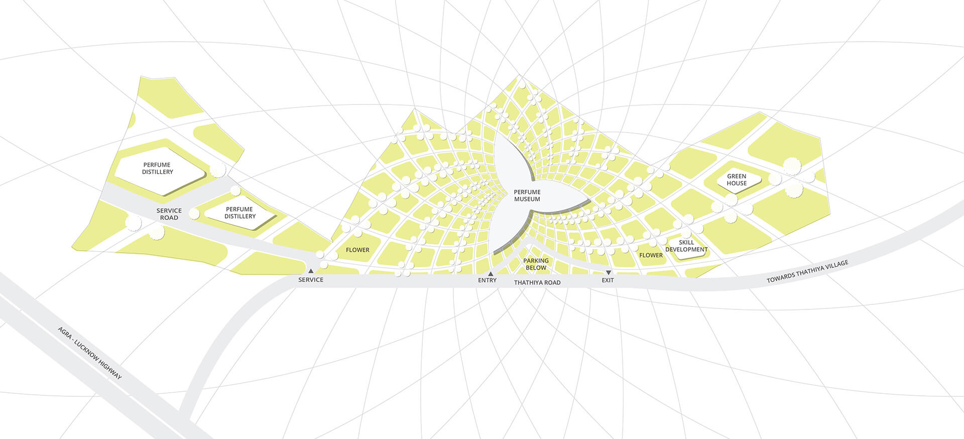 Site Plan | Perfume Park and Museum | Studio Symbiosis | STIRworld