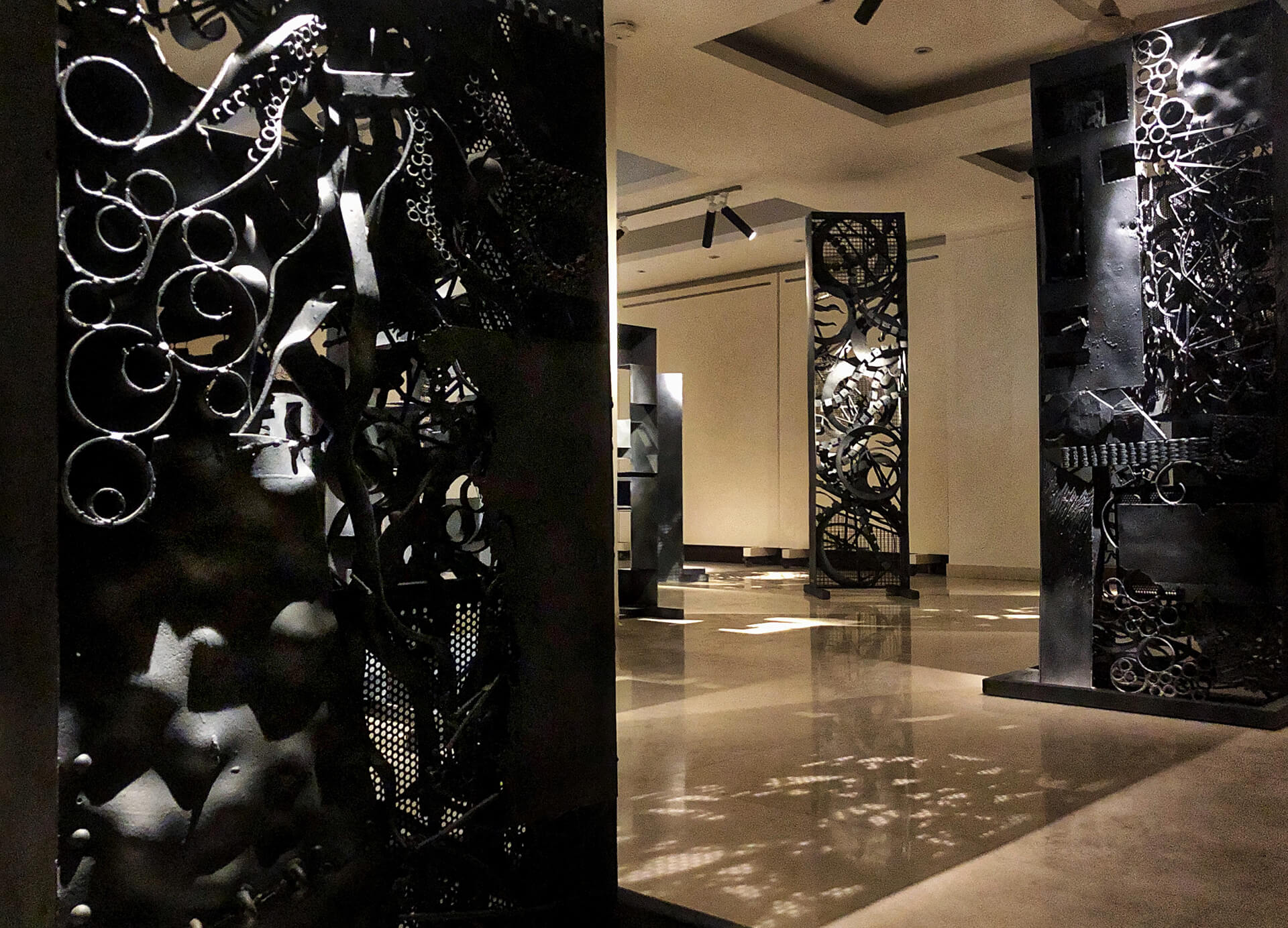 The Walls – a collection of 12 works created by hammering, molding and welding metals | The Walls | Arzan Khambatta | STIRworld