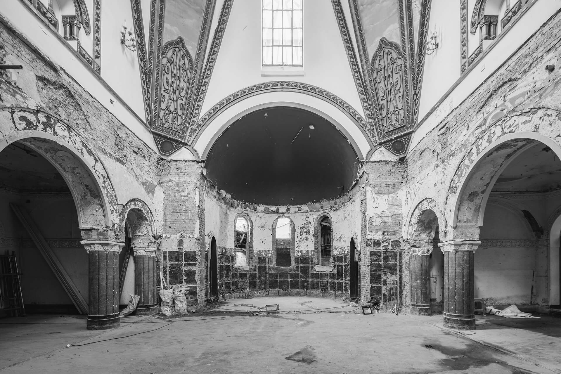 The derelict condition of the orthodox church | Sinan Books Poetry Store by Wutopia Lab | STIRworld