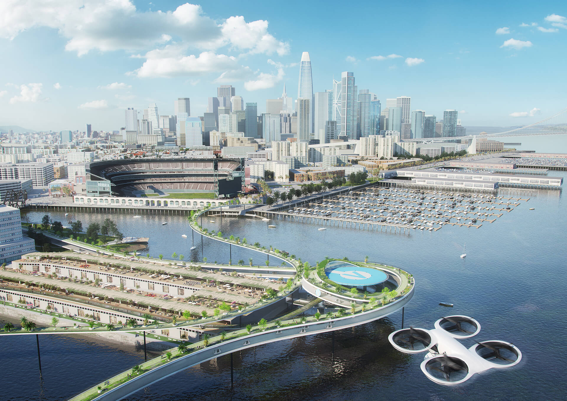 Promoting green mobility, San Francisco | Airbus | MVRDV | STIRworld