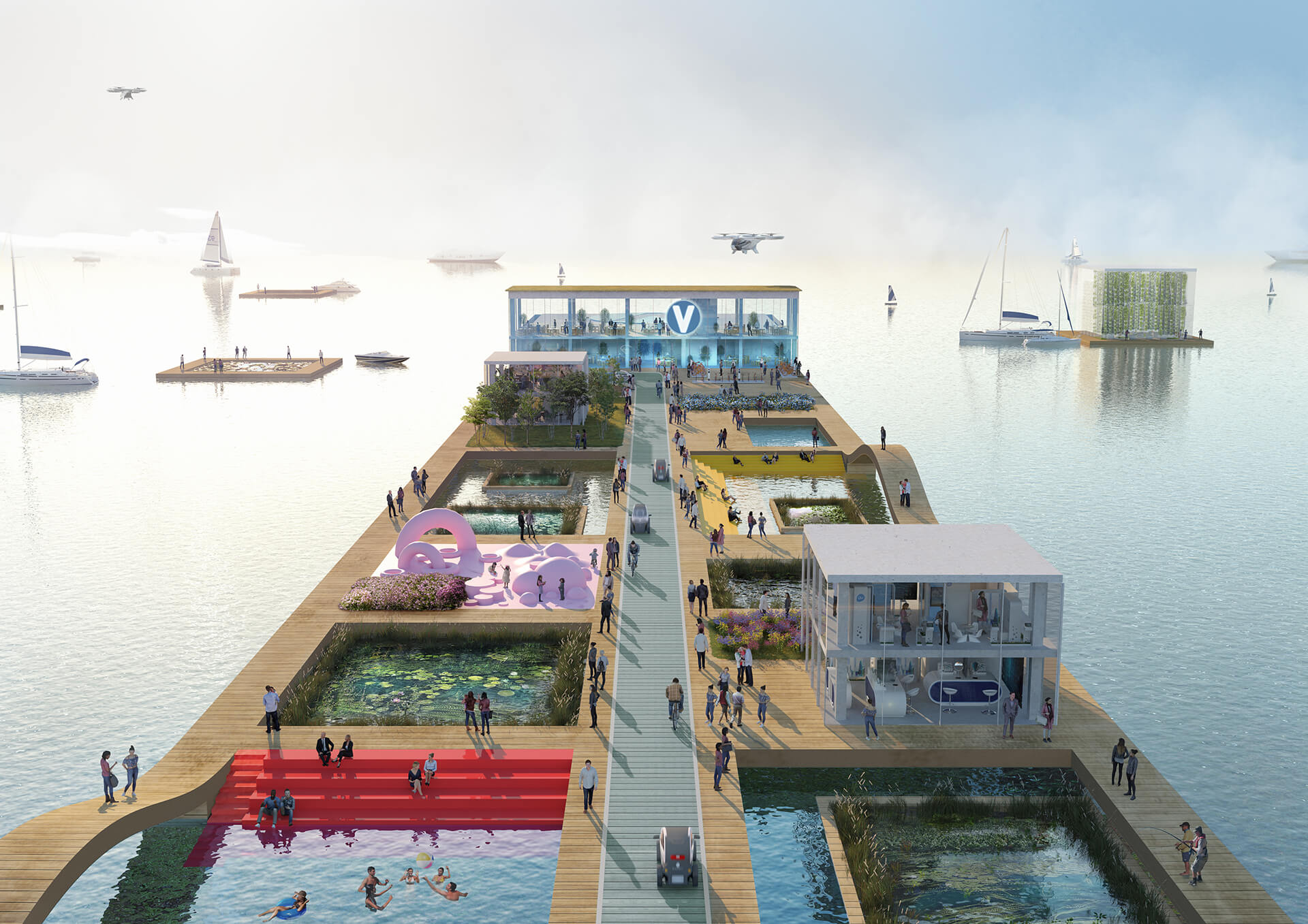 Promoting accessibility between disconnected areas, Jakarta | Airbus | MVRDV | STIRworld