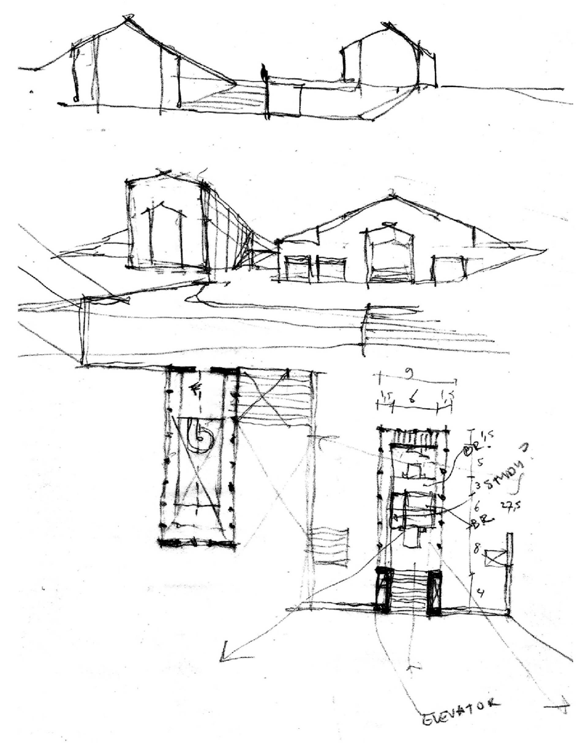 Step 9: Spatial and visual experience inform the design decisions | Plantation Retreat | Architecture BRIO | STIRworld