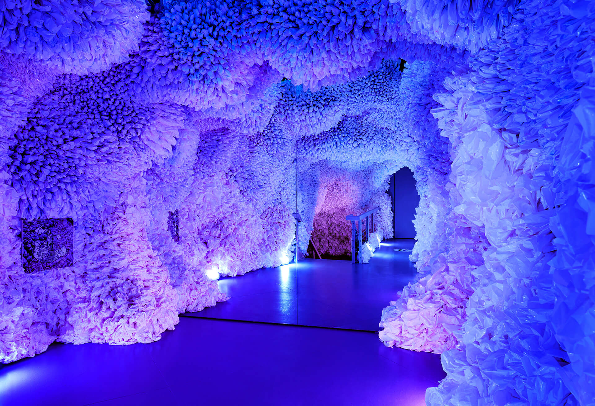 Basia Goszczynska's simple but striking installation Rainbow Cave | Arcadia Earth | Valentino Vettori | STIRworld