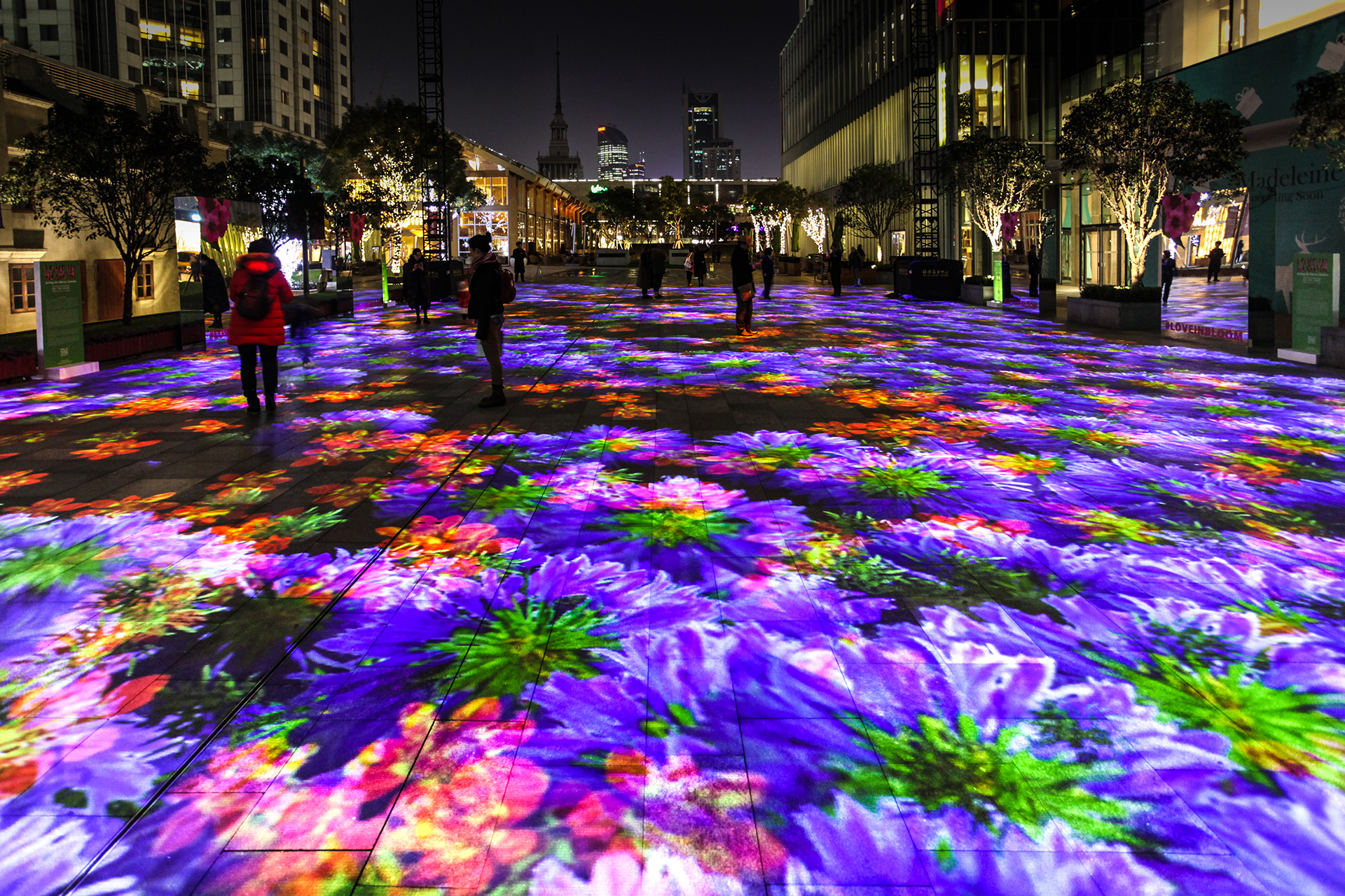 'Digital Water Lillies' (2017), a digital virtual-reality installation by Chevalier | Digital Water Lillies | Miguel Chevalier | STIRworld
