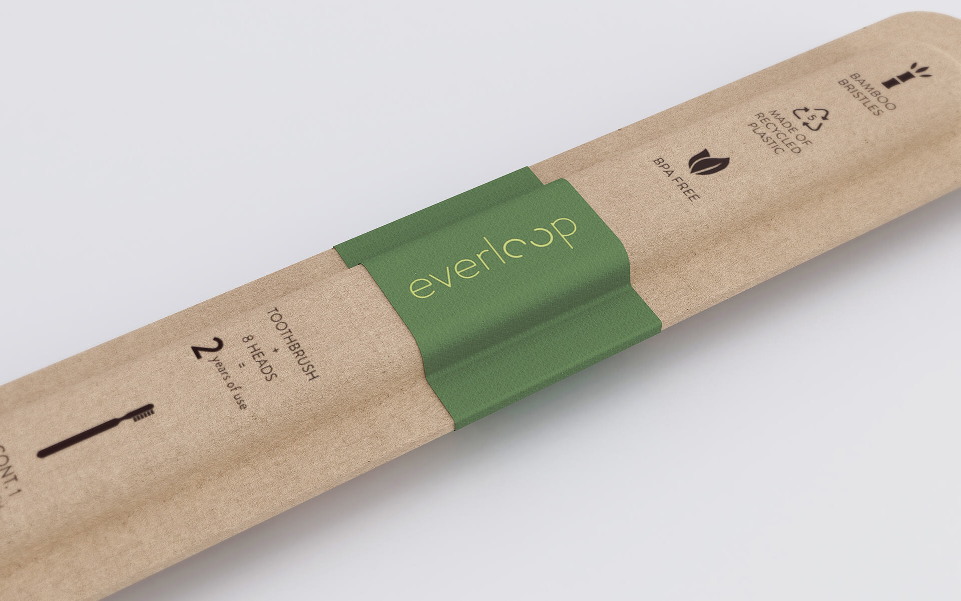 The cover of the packaged Everloop toothbrush | Everloop Toothbrush | NOS | STIRworld