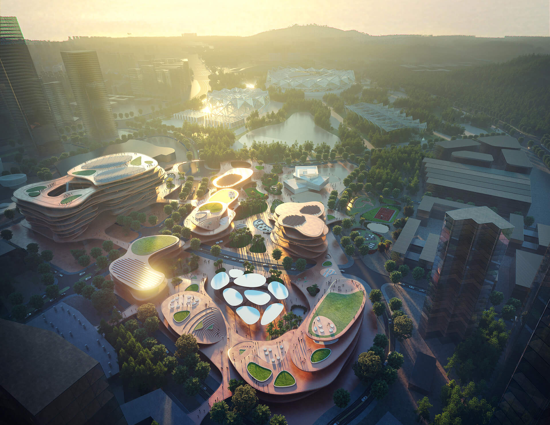Birds eye view of Shenzhen Terraces   | MVRDV | Shenzhen | STIRworld