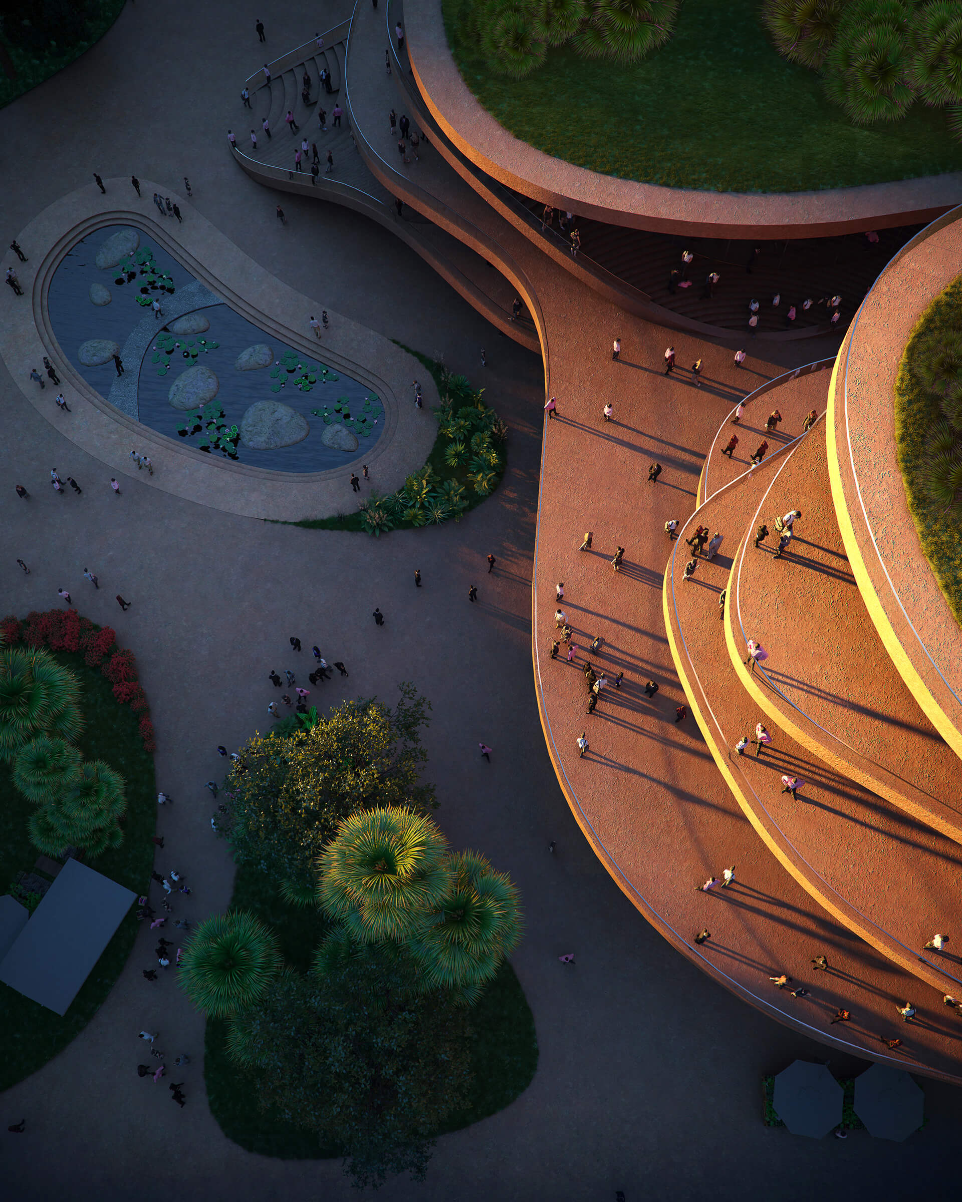 The terraces expand and recede in organic arrangements | MVRDV | Shenzhen | STIRworld
