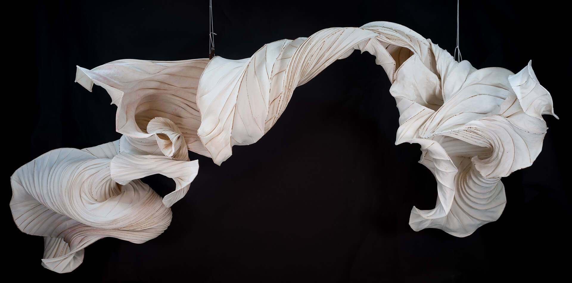 River Dragon, a part of the experience created by Gentenaar Troley Paper Artists | Iris van Herpen | Peter Gentenaar | STIRworld