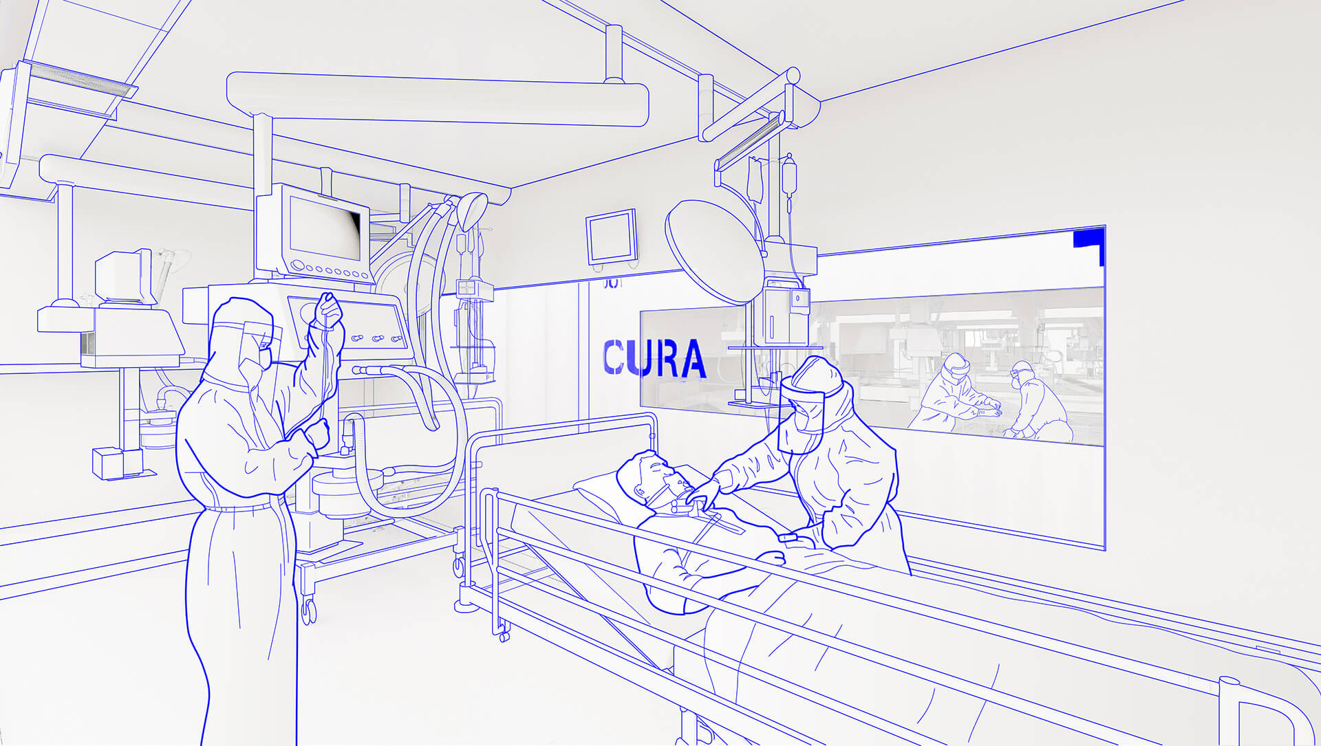 Responding to the shortage of ICU space in hospitals during the current COVID-19 outbreak, the plug-in biocontainment pods can be quickly deployed in cities around the world  | CURA | Carlo Ratti Associati | STIRworld