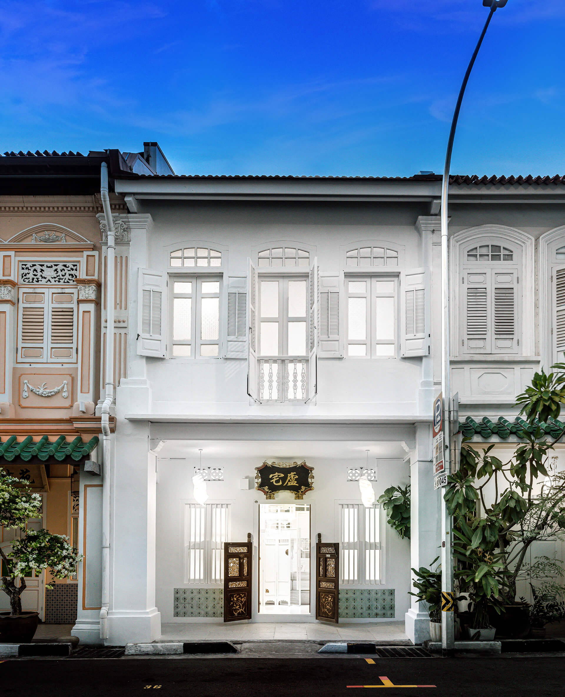 The Canvas House – Façade | Canvas House in Singapore by Ministry of Design | STIRworld