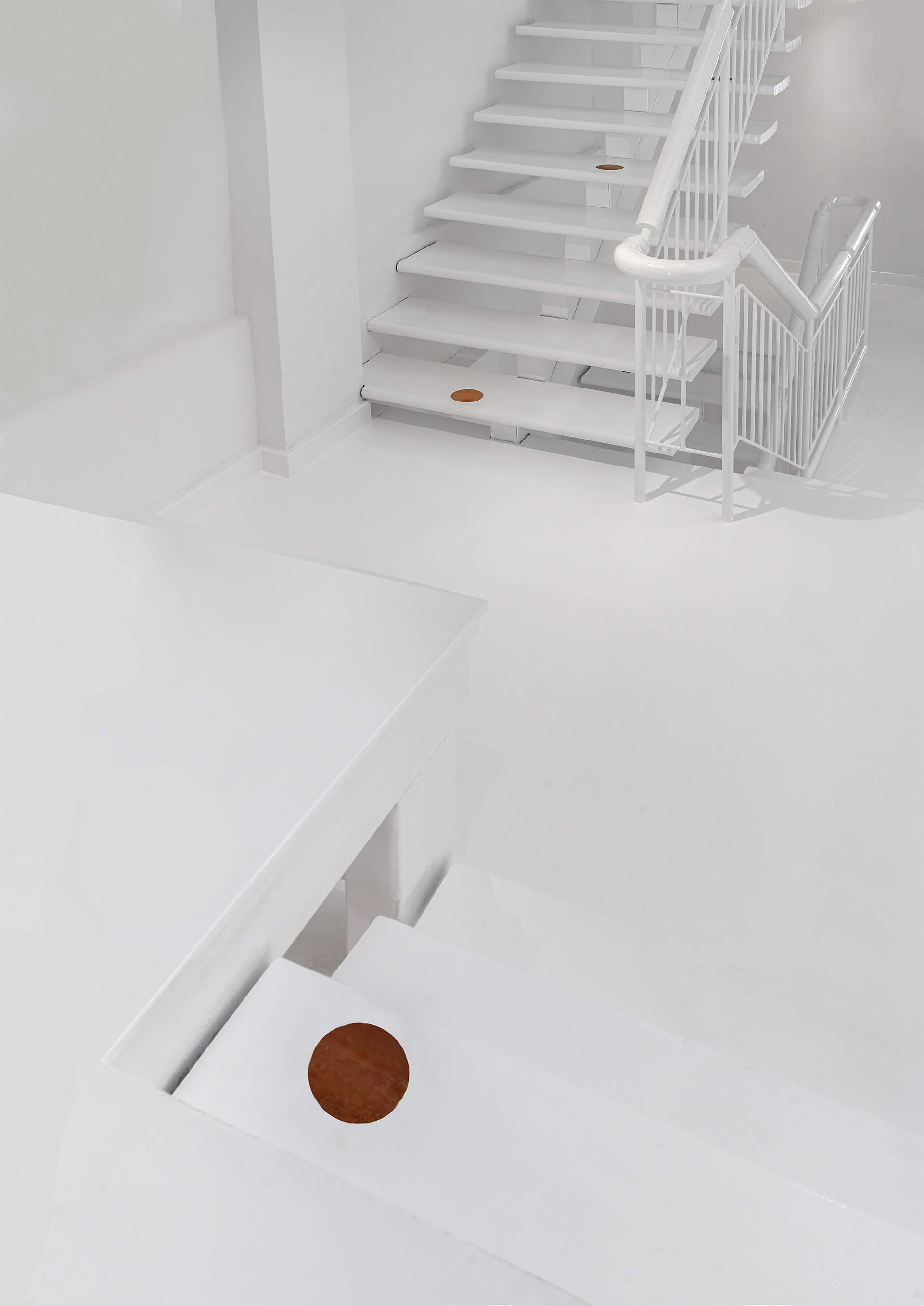 Close-up of the stairs | Canvas House in Singapore by Ministry of Design | STIRworld