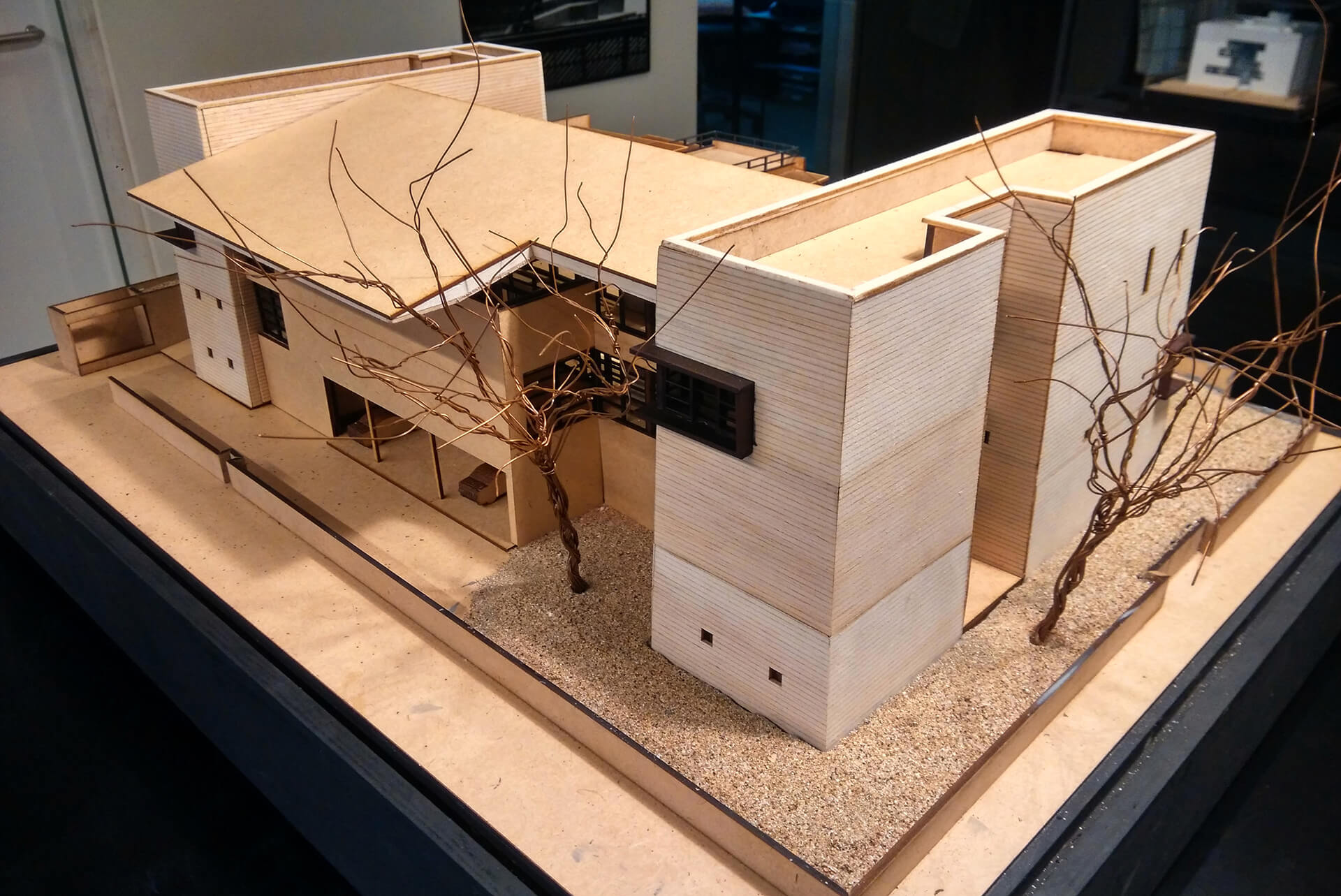 Model of the Black Bastion house by Spasm Design | Black Bastion House| Spasm Design | STIRworld