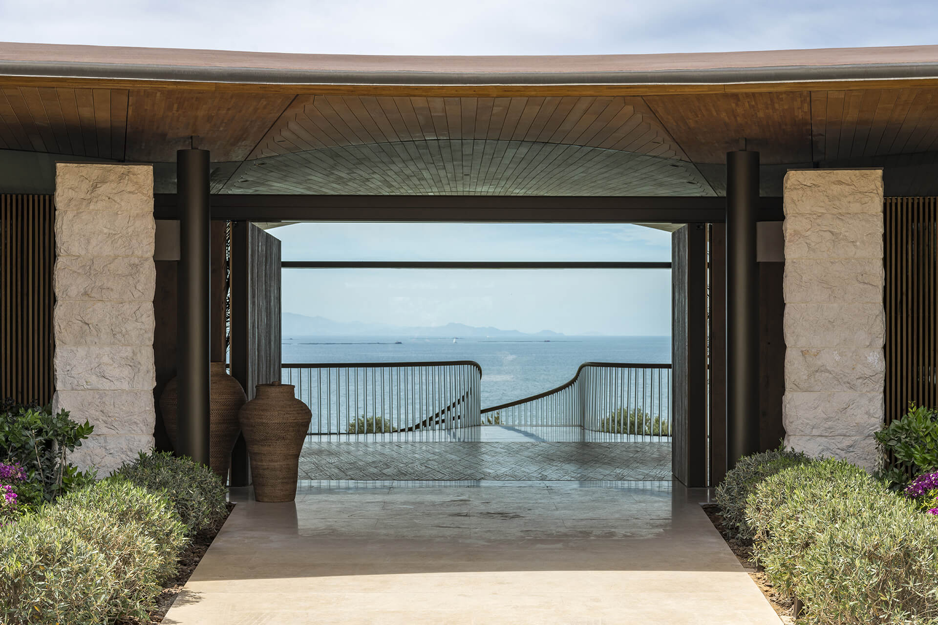 Entrance to the house | Dolunay Villa in Mulga | Foster and Partners | STIRworld