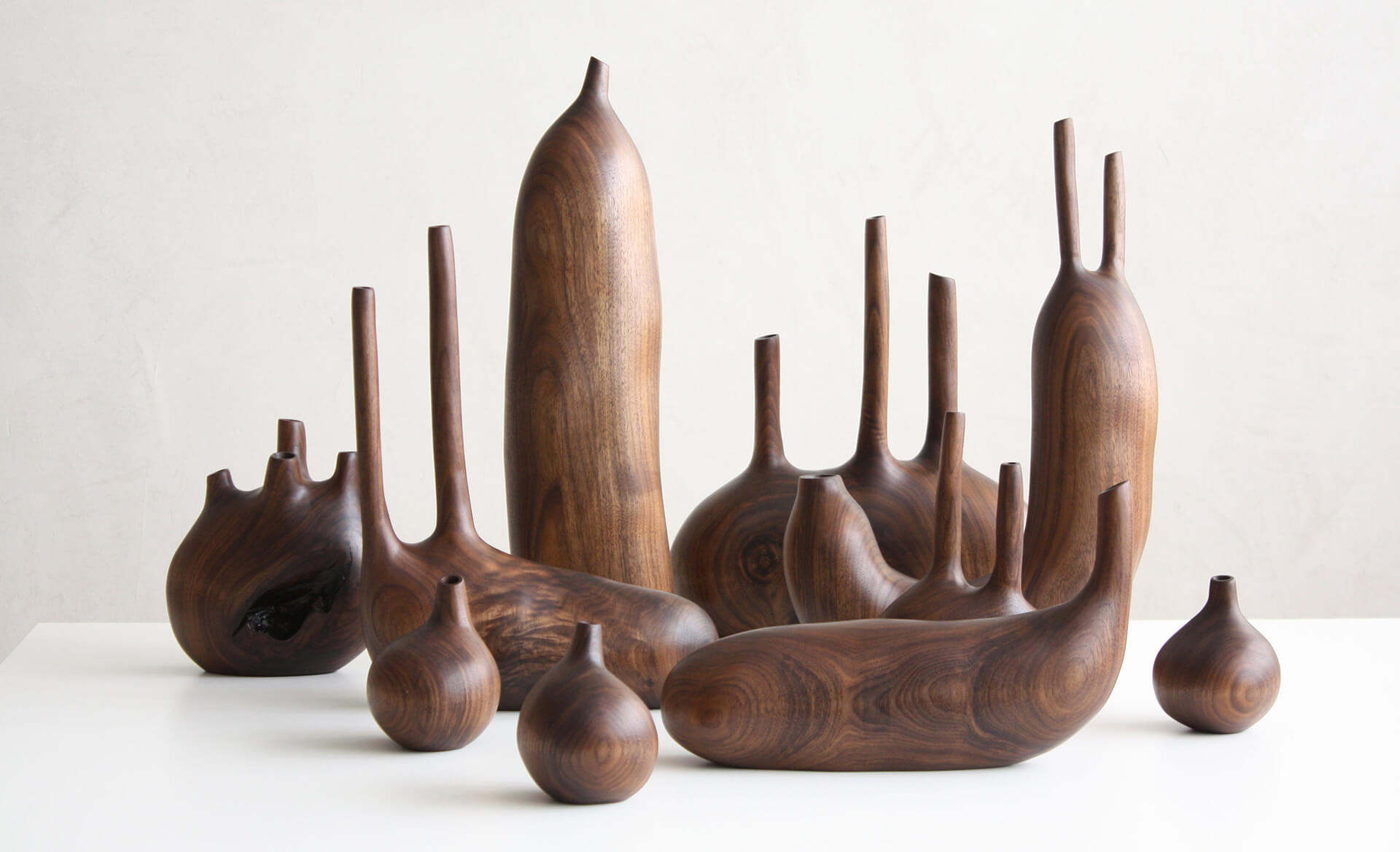 Twig Vases by Julian Watts | Julian Watts | 10 wood sculptors you should know | STIRworld