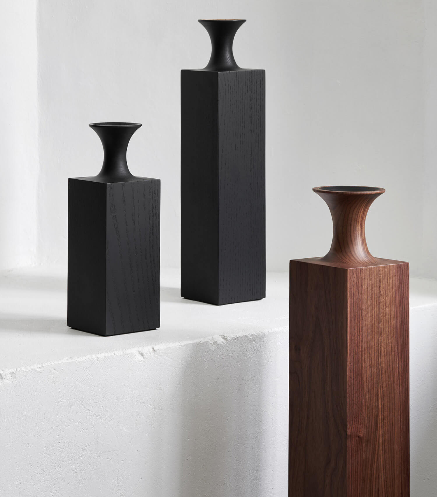 Tasso Vase collection by Mathieu Delacroix | Mathieu Delacroix |10 wood sculptors you should know | STIRworld