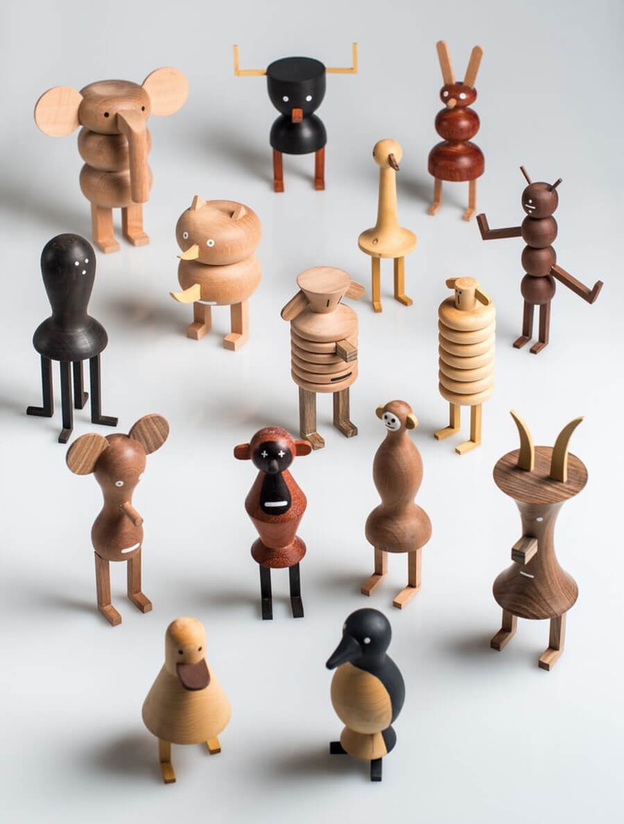 The Funny Farm by Isidro Ferrer | Isidro Ferrer | 10 wood sculptors you should know | STIRworld
