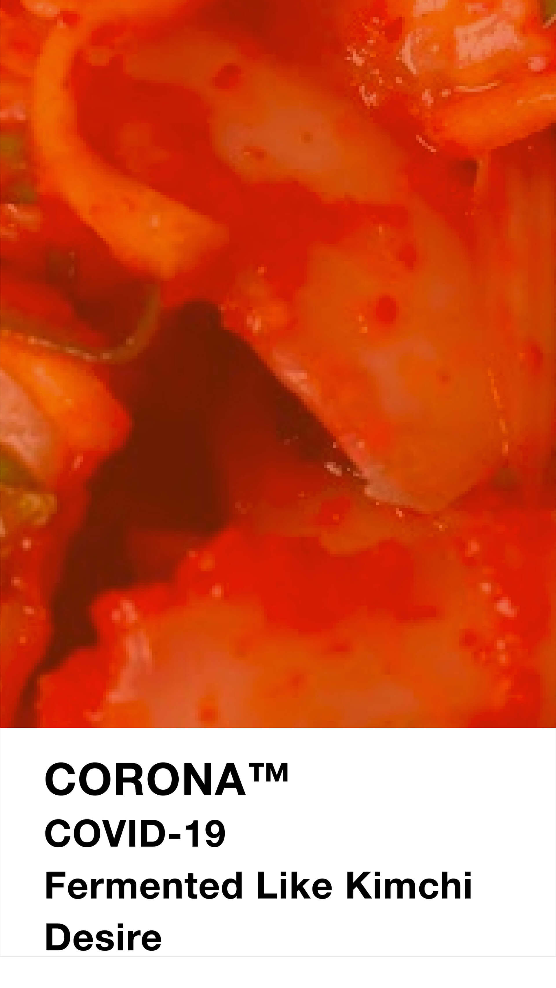 Fermented like Kimchi Desire | Pantone to Phantome: A new colour chart for the post-COVID world | Designer/Artist/Architect | STIRworld