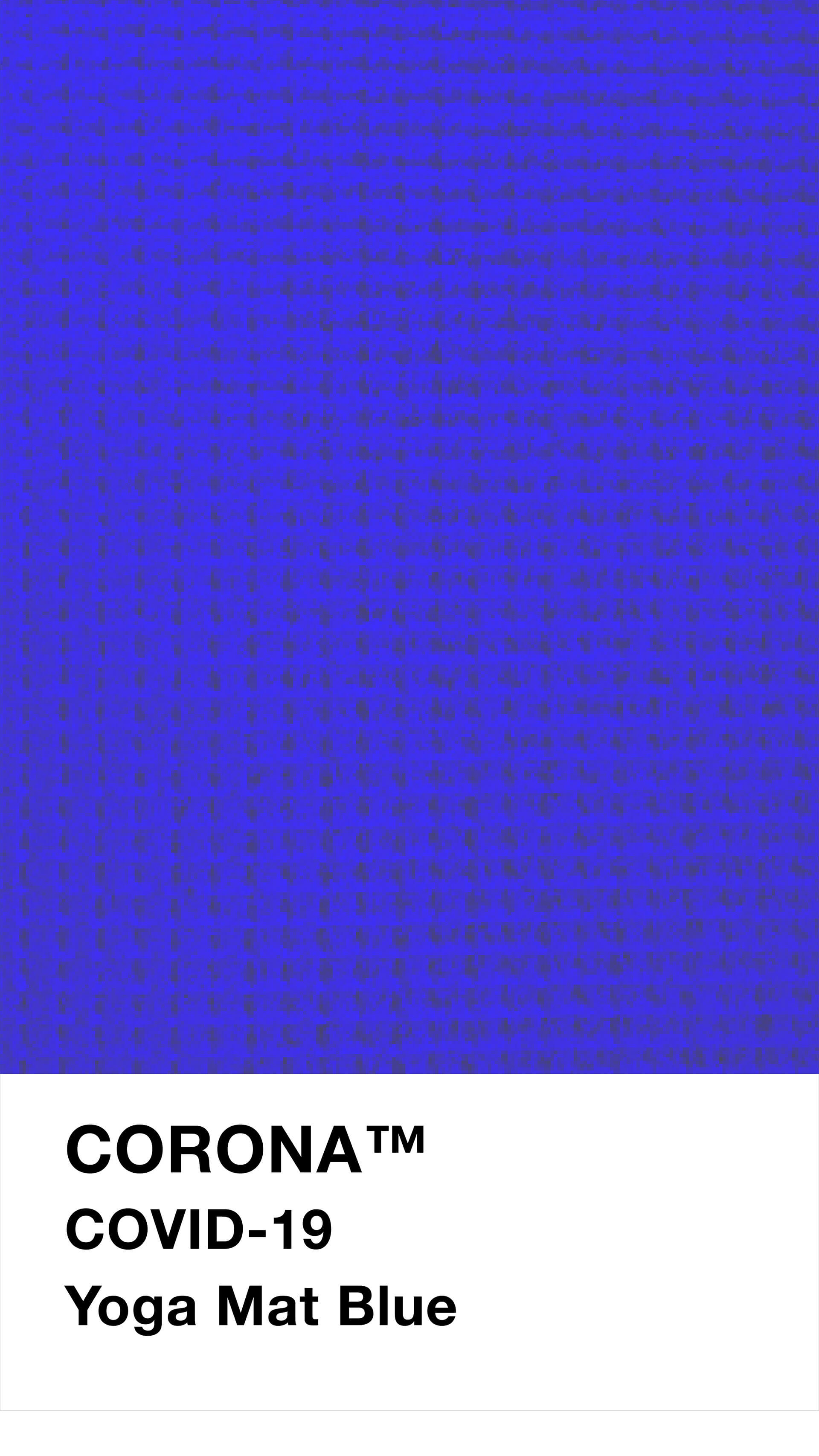 Yoga Mat Blue | Pantone to Phantome: A new colour chart for the post-COVID world | Designer/Artist/Architect | STIRworld