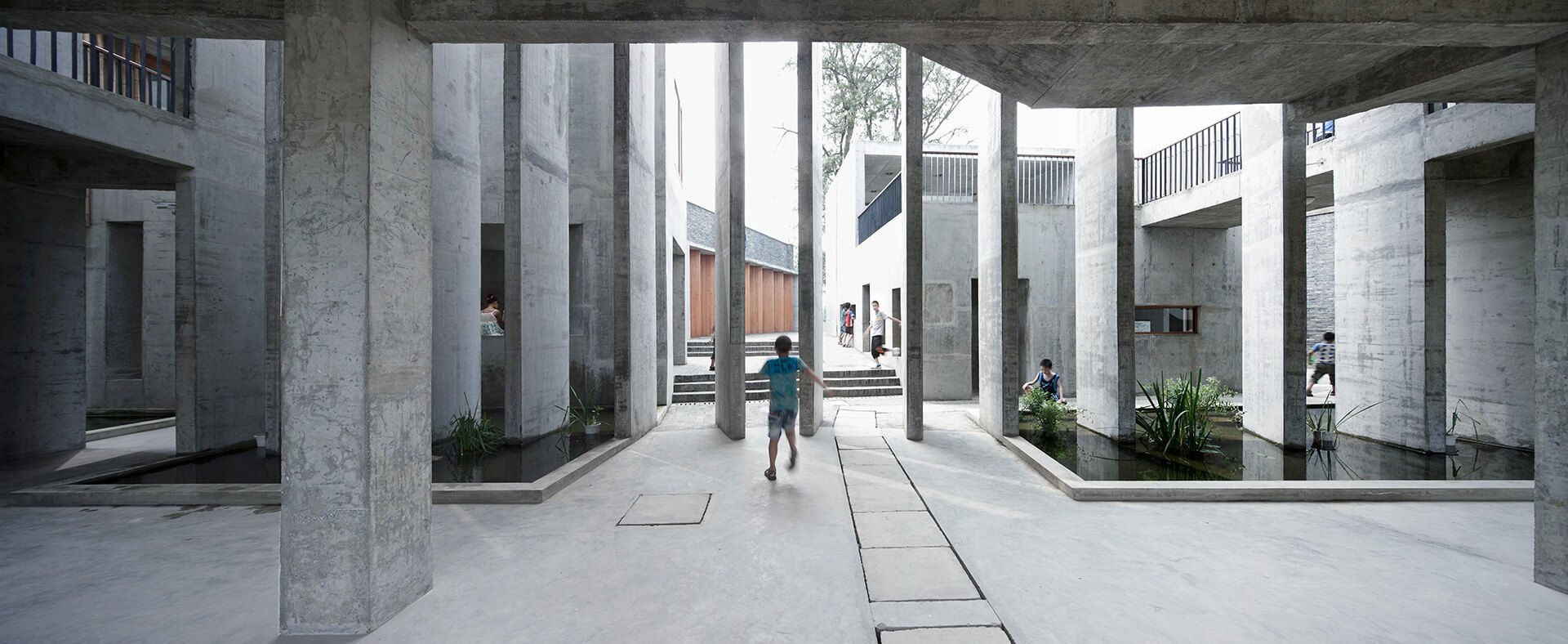 Xiaoquan Elementary School (2010) | Li Hua | Trace Architecture Office | STIRworld
