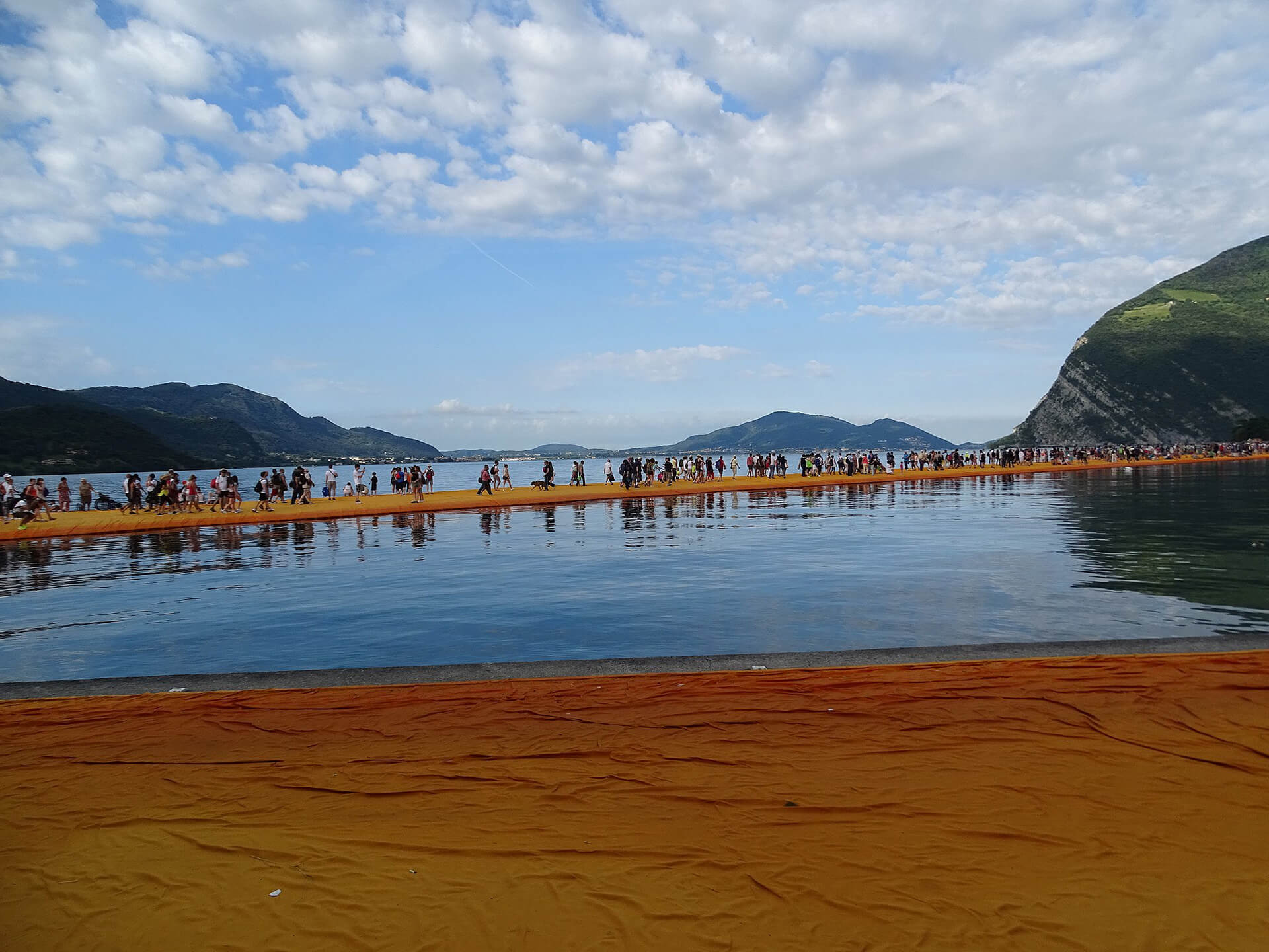 The Floating Piers by Christo and Jeanne-Claude | The Floating Piers in Italy | Christo and Jeanne-Claude| STIRworld