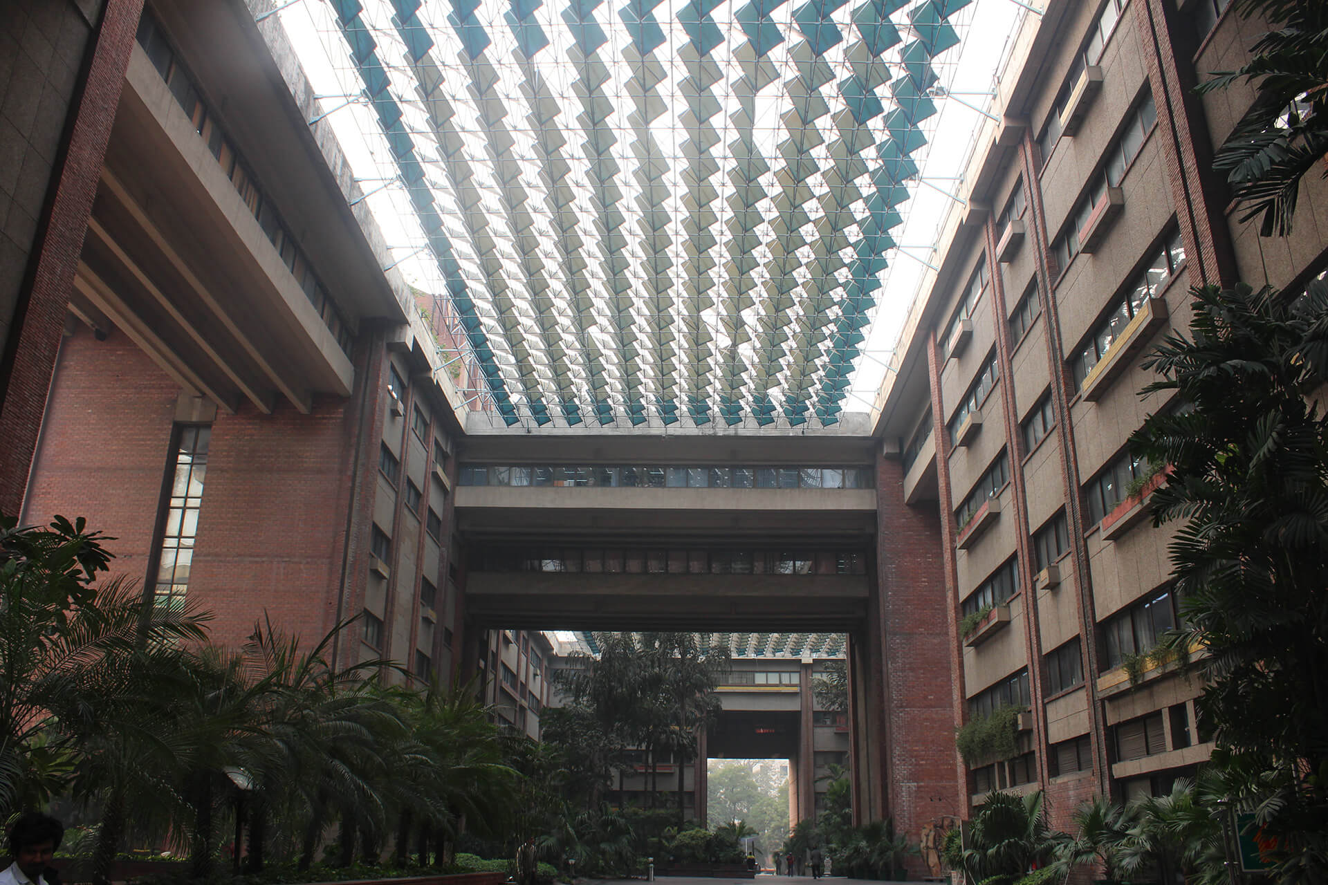 India Habitat Centre designed by Joseph Allen Stein for HUDCO in 1995 | Land as public amenity | Ranjit Sabikhi | STIRworld