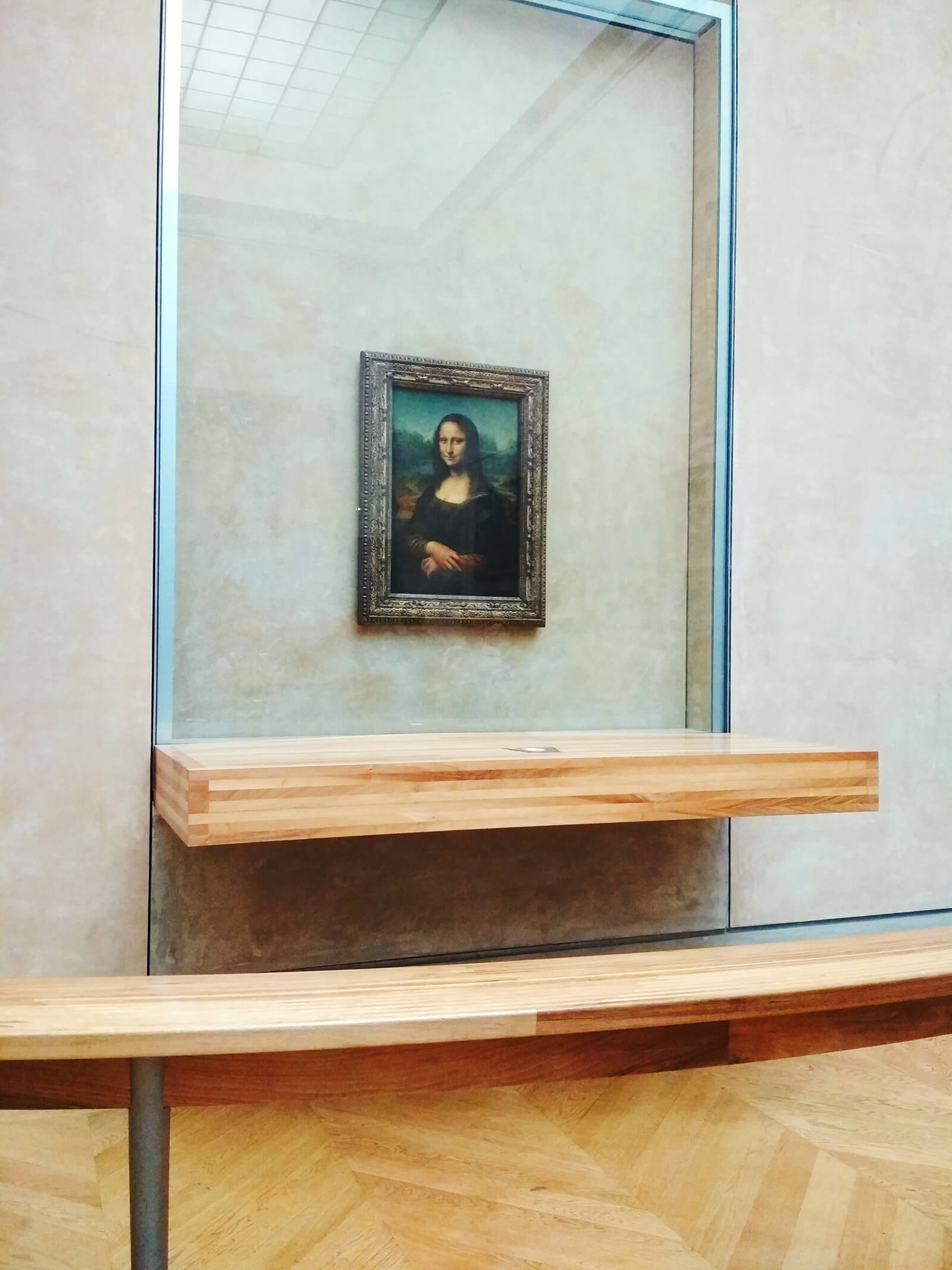 Mona Lisa is one of the most vandalised and protected works of art at the Louvre in Paris | STIRworld